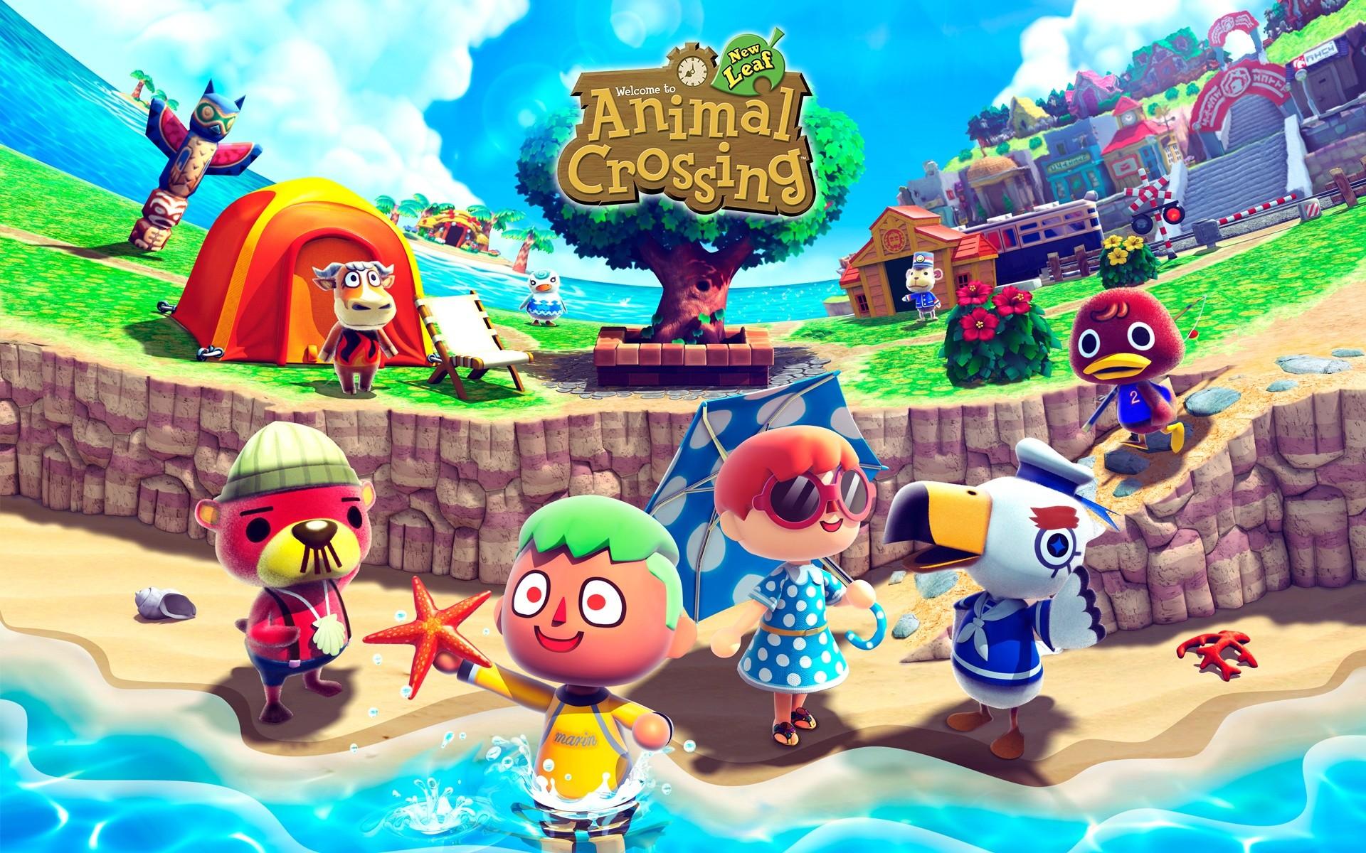 Wallpaper Animal Crossing Animal Crossing New Leaf New Leaf