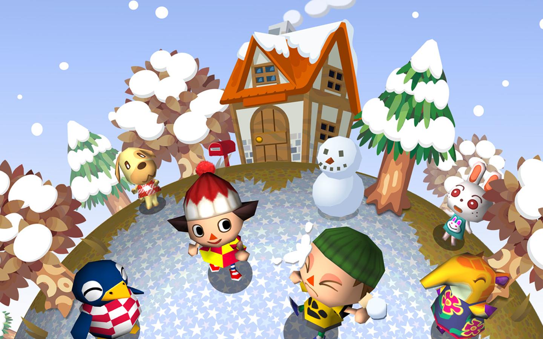 Wallpaper Animal Crossing Winter Snow Video Games 1440x900 Emagreff 1396493 Hd Wallpapers Wallhere
