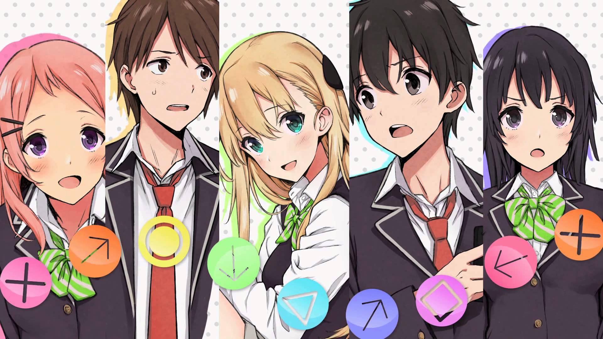 Wallpaper Anime Gamers Aguri Gamers Amano Keita Karen Tendou