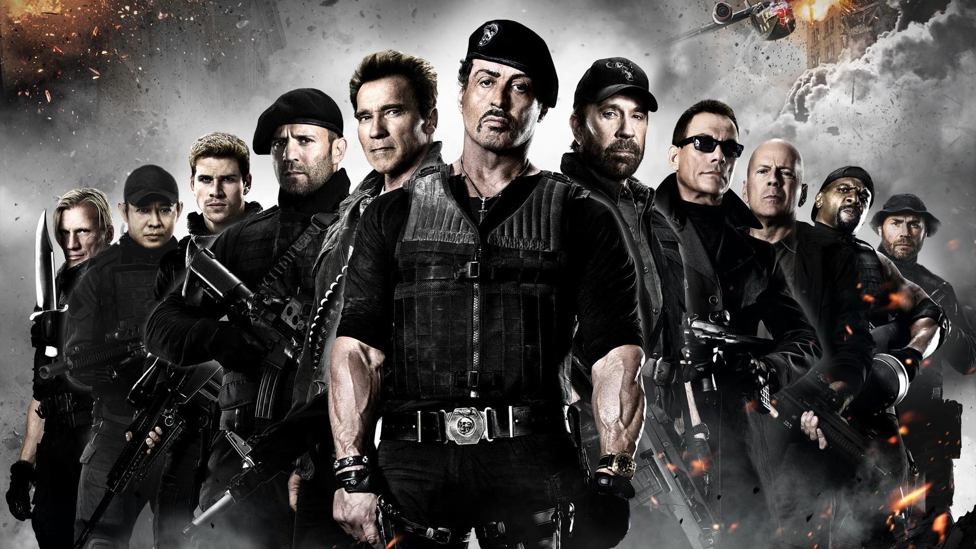 Film Schwarzenegger Stallone