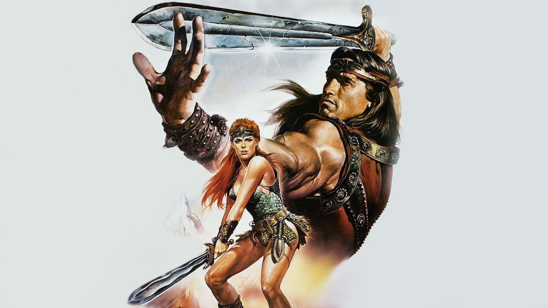 Wallpaper Arnold Schwarzenegger Movies Sword Warrior