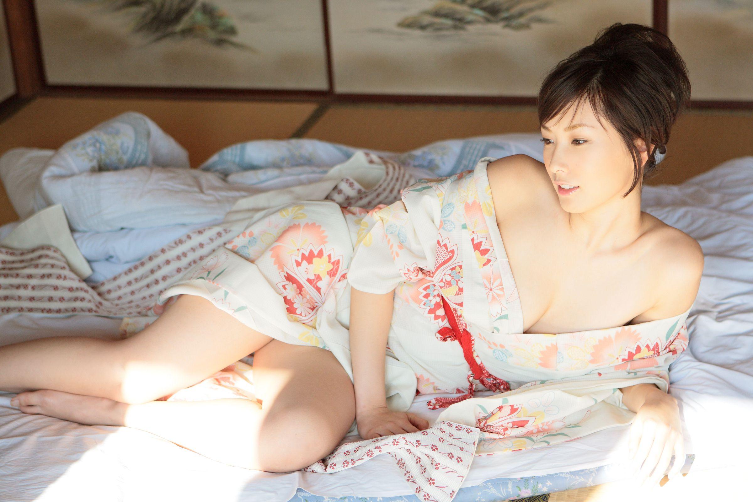 wallpaper : asian, japanese, nao nagasawa, model, women, kimono