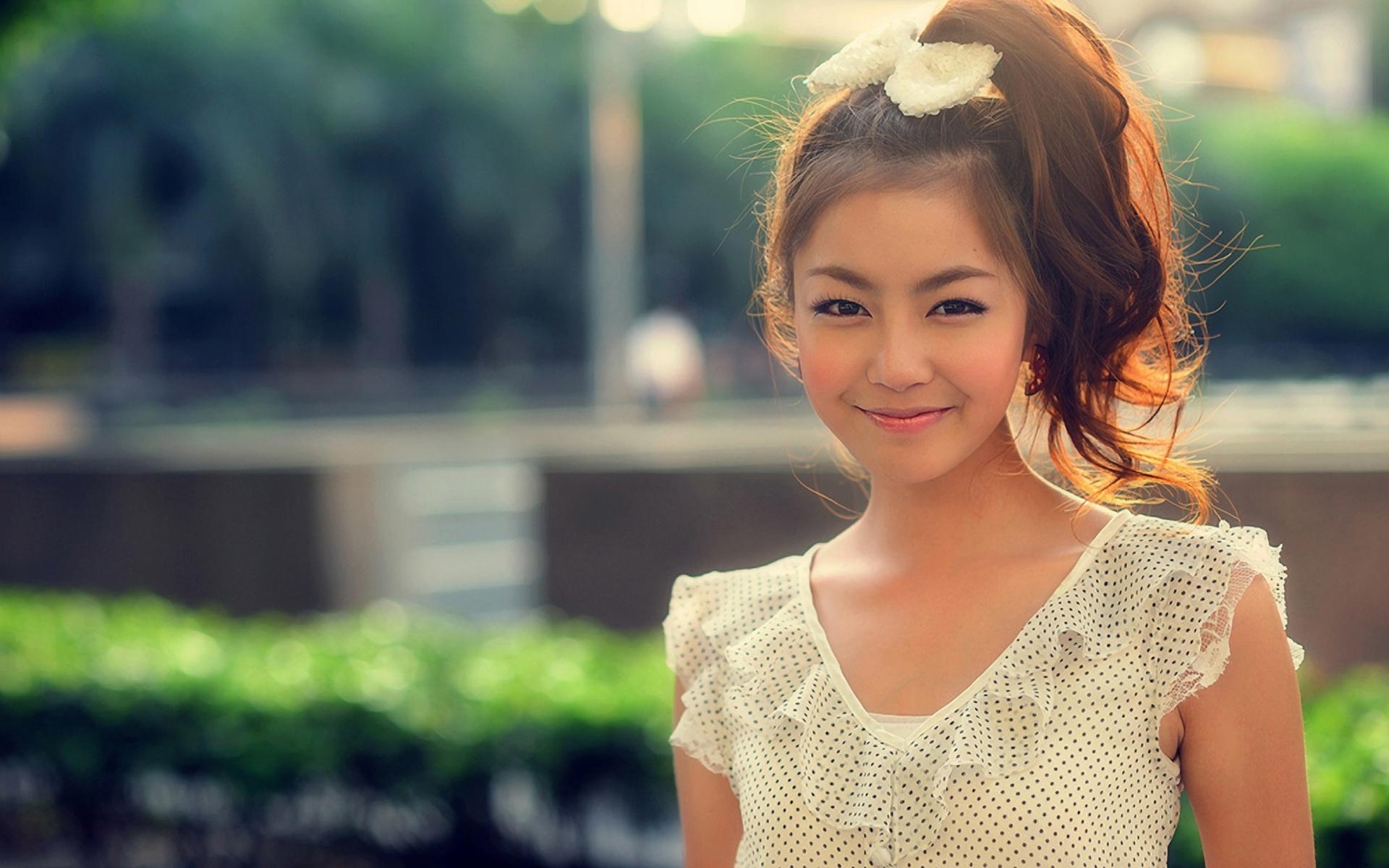 Wallpaper : Asian, smile, face 1920x1200 - goodfon - 643552