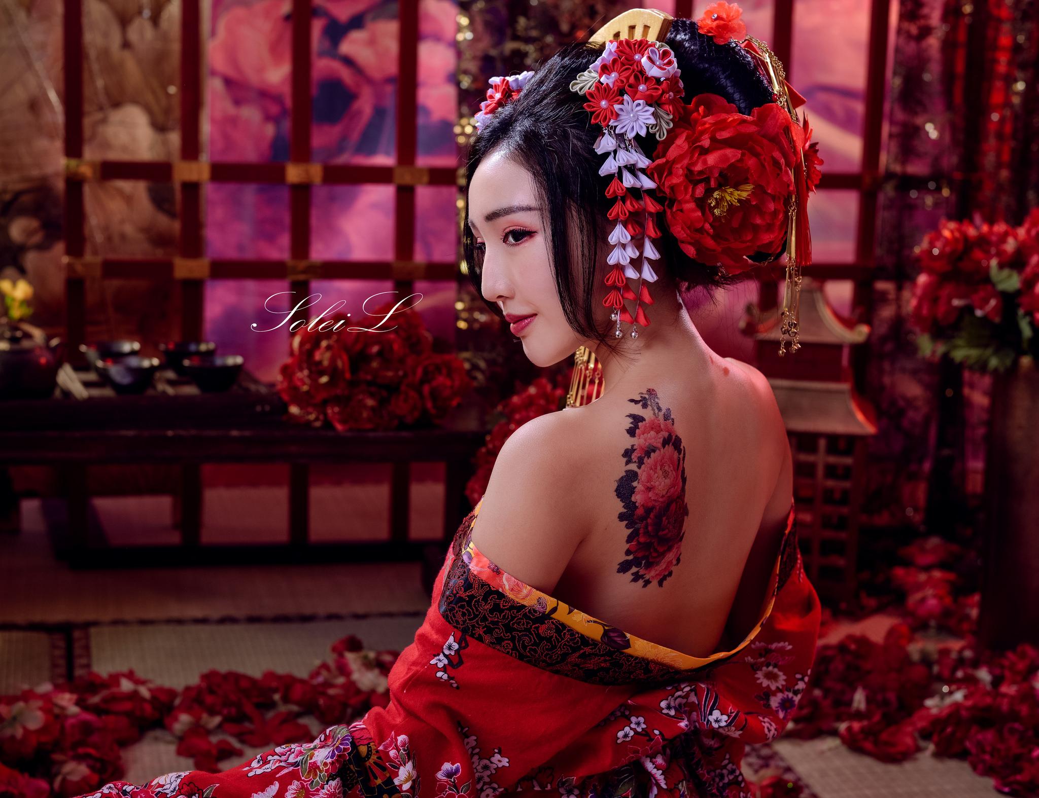 Sexy geisha