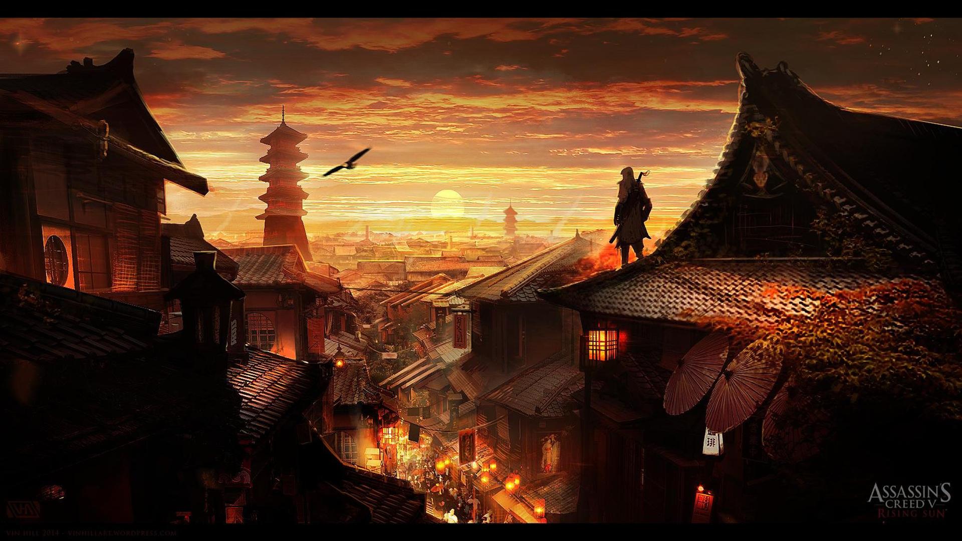 Wallpaper Assassin S Creed Fantasy Art Video Games 1920x1080