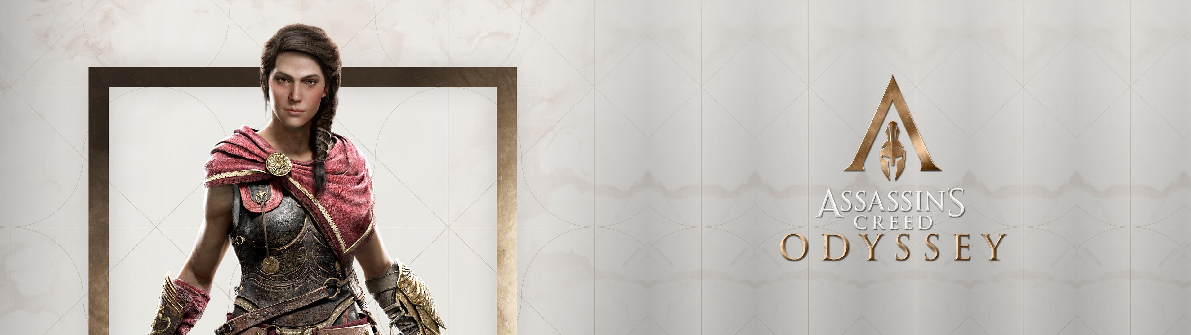 Wallpaper Assassins Creed Odyssey Dual Monitors Kassandra