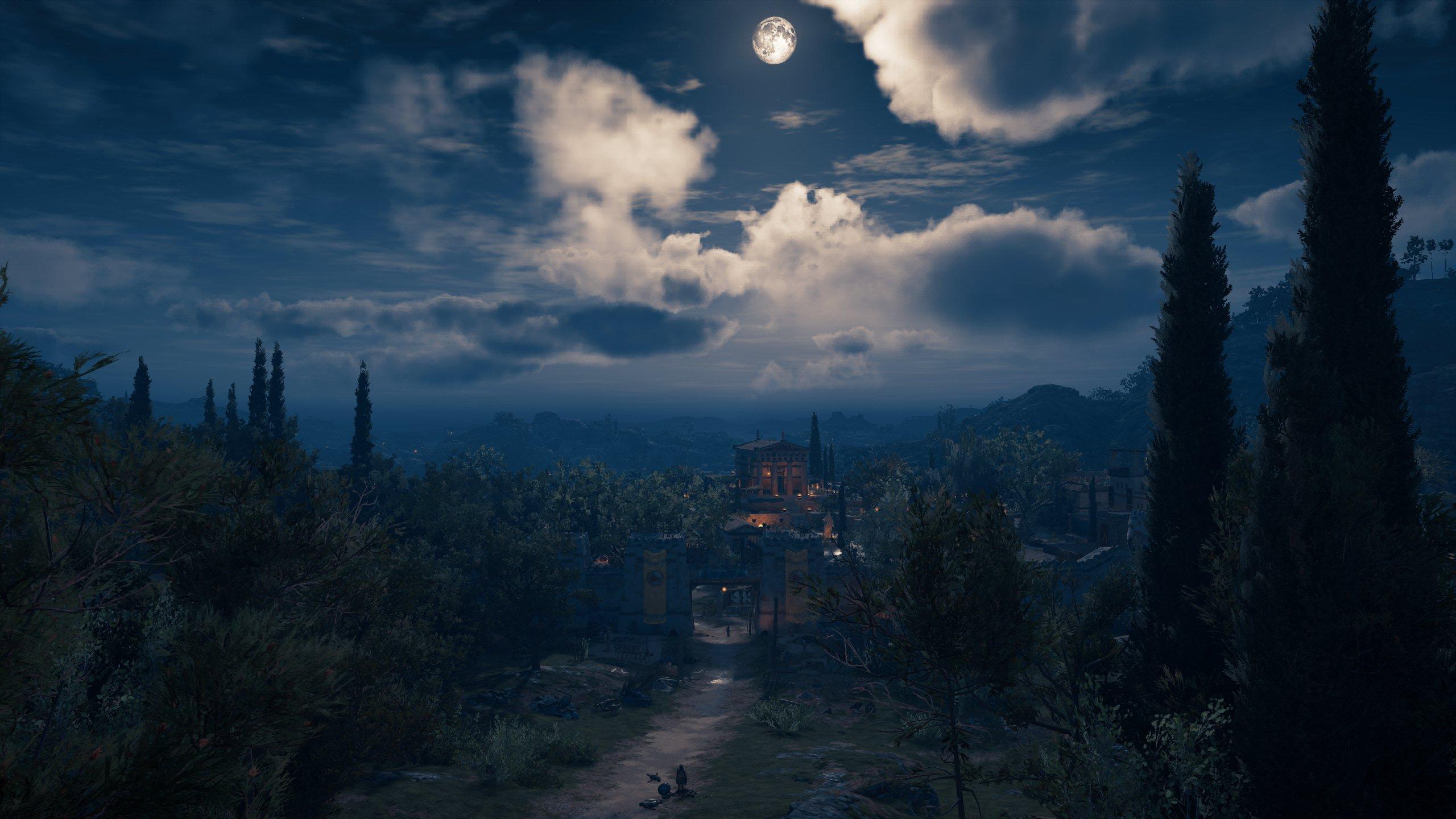 Wallpaper Assassins Creed Odyssey Screen Shot 2560x1440