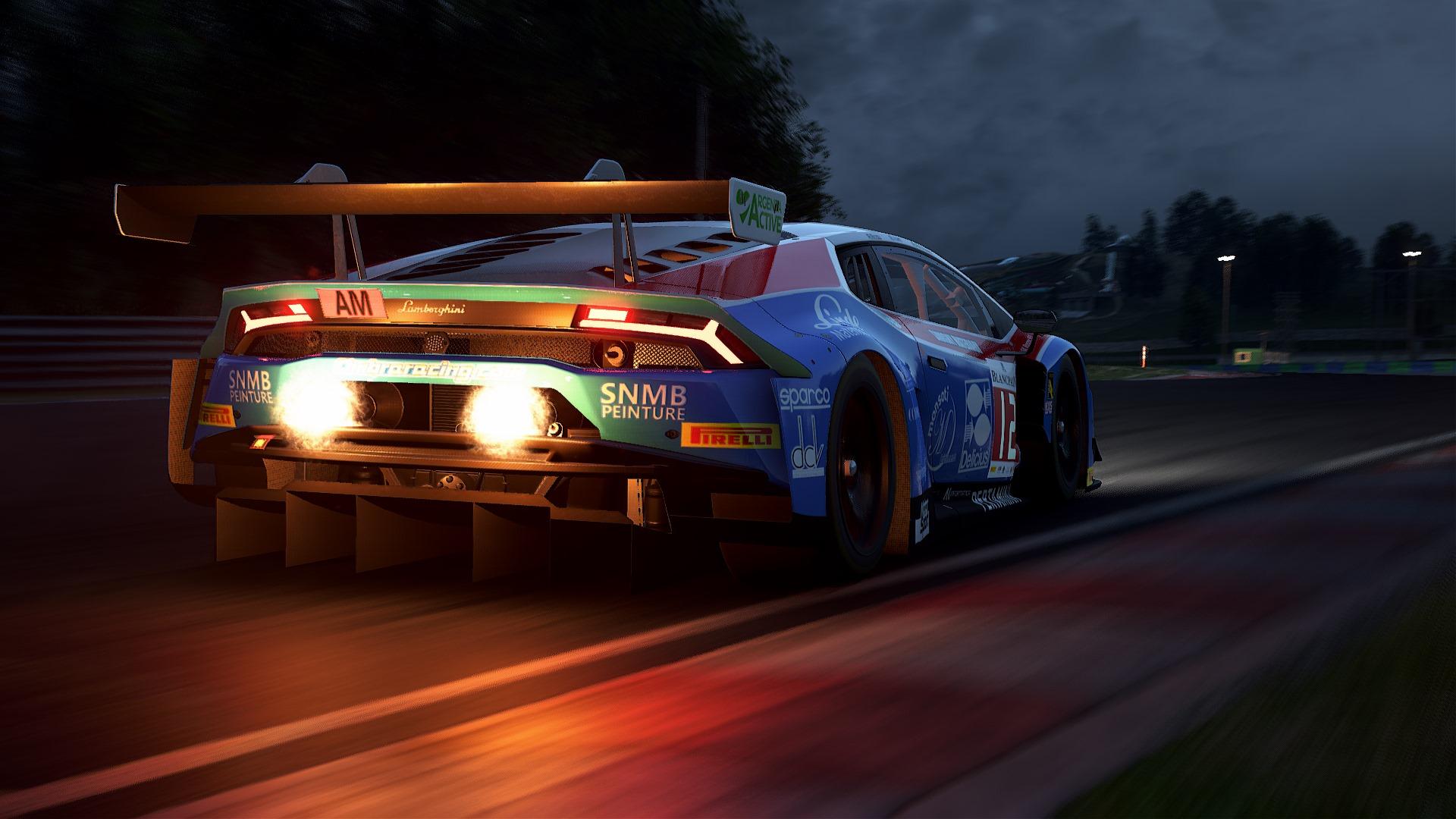 Wallpaper : Assetto Corsa Competizione, Lamborghini Huracan