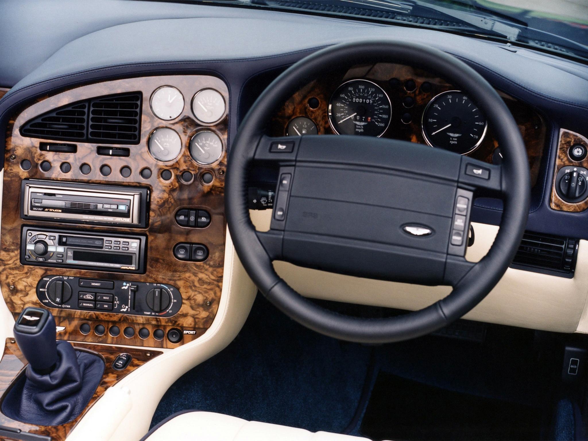 Wallpaper Aston Martin V8 Vantage 1993 Salon Interior Steering Wheel Speedometer 2048x1536 Wallup 1084621 Hd Wallpapers Wallhere