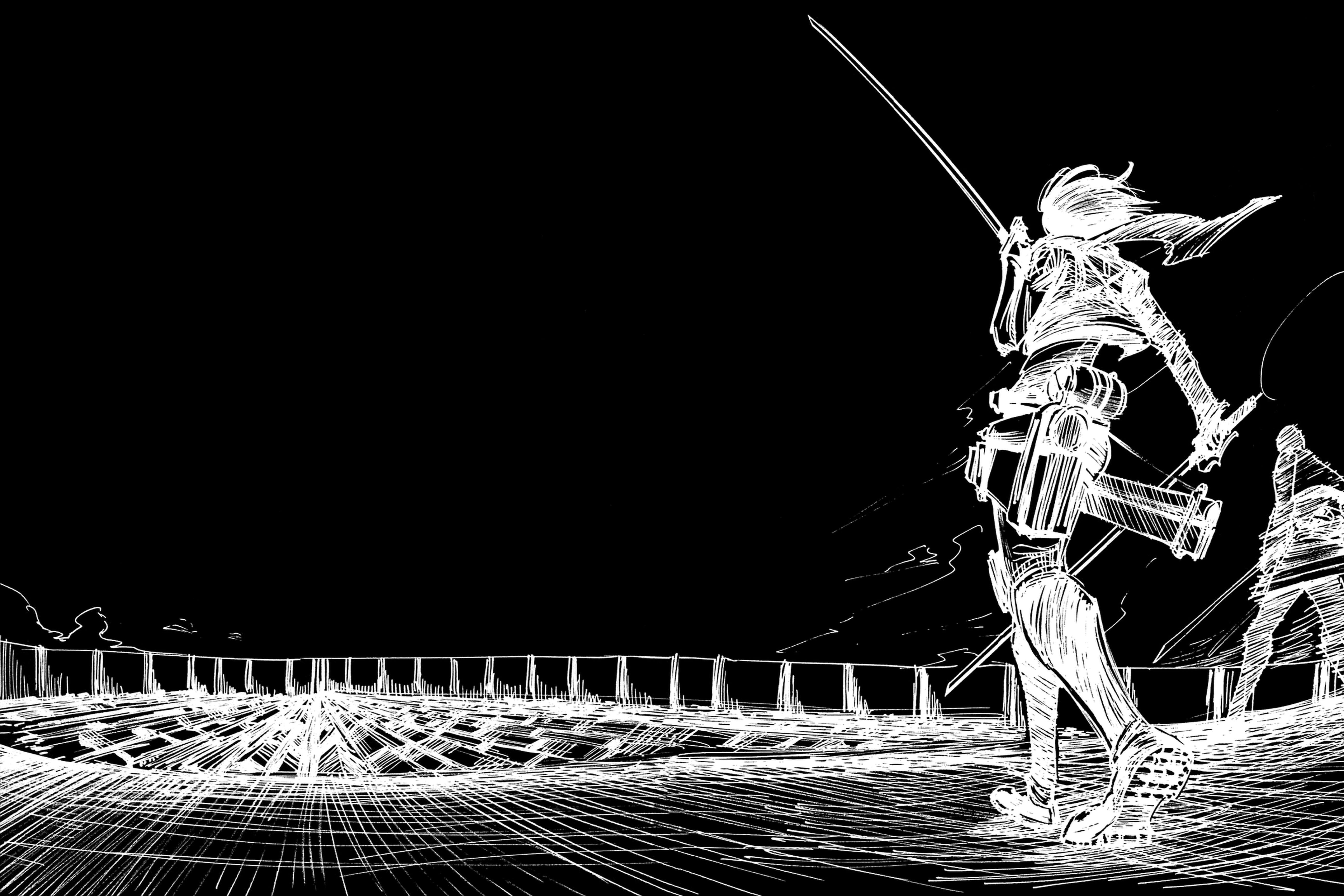 Wallpaper Attack On Titans Shingeki No Kyojin Mikasa Ackerman Gadis Anime Pedang Senjata 5184x3456 San99 1862963 Hd Wallpapers Wallhere