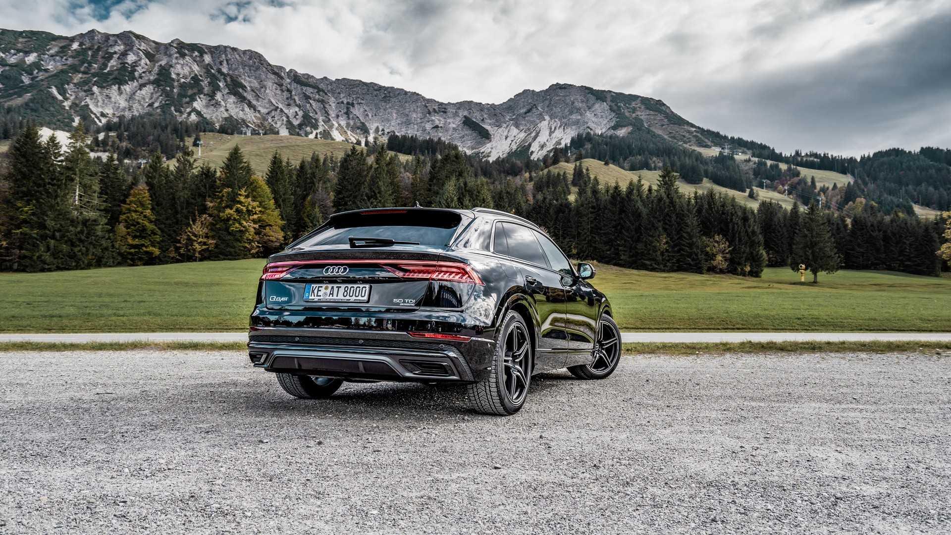 Wallpaper : Audi Q8 2019, abt audi q8, landscape, car, mountains
