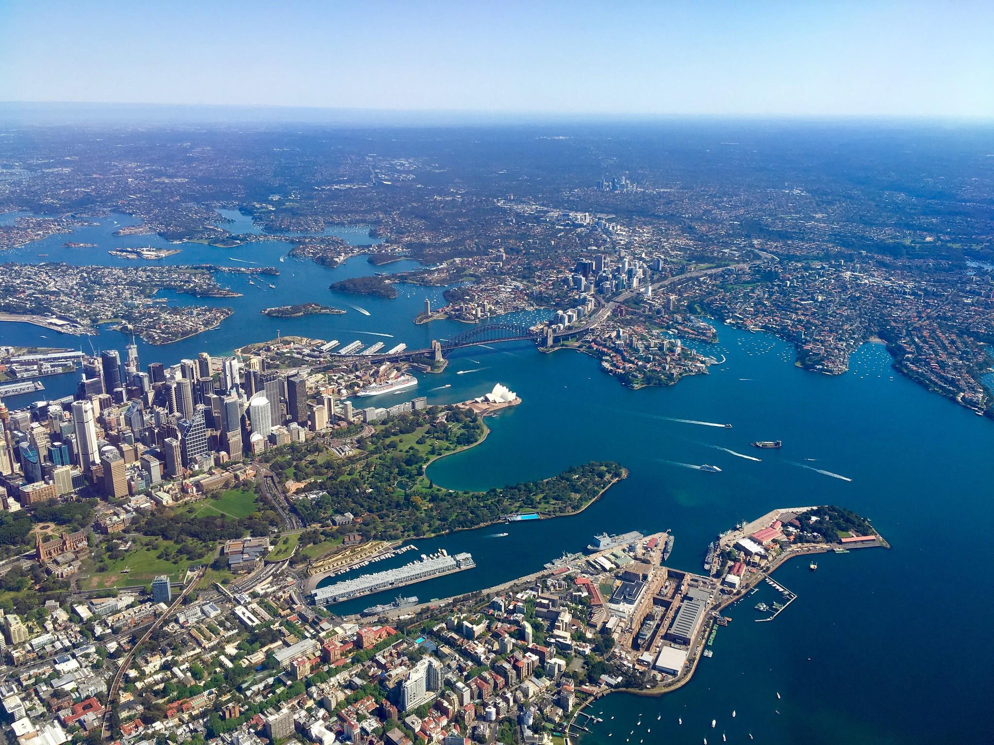 Fond D 233 Cran Australie Sydney Vue A 233 Rienne Ville