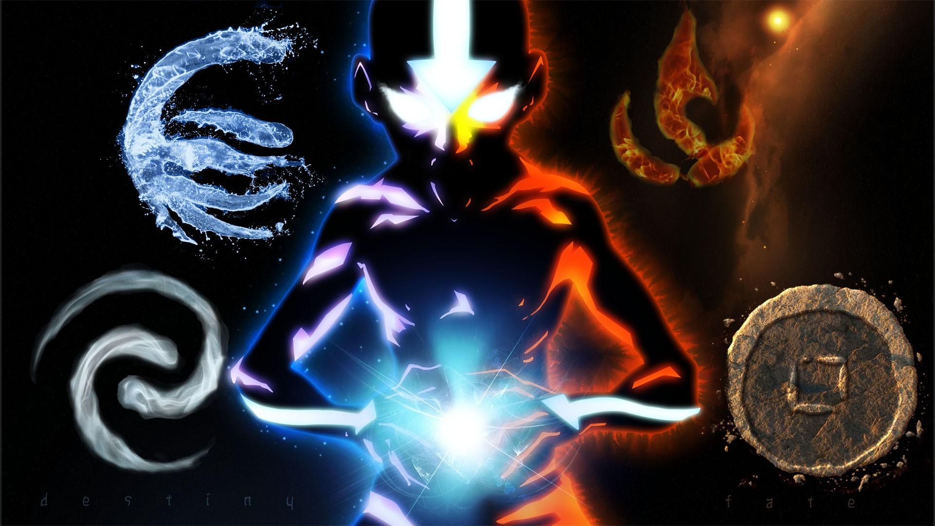 Wallpaper Avatar The Last Airbender Aang Darkness Screenshot