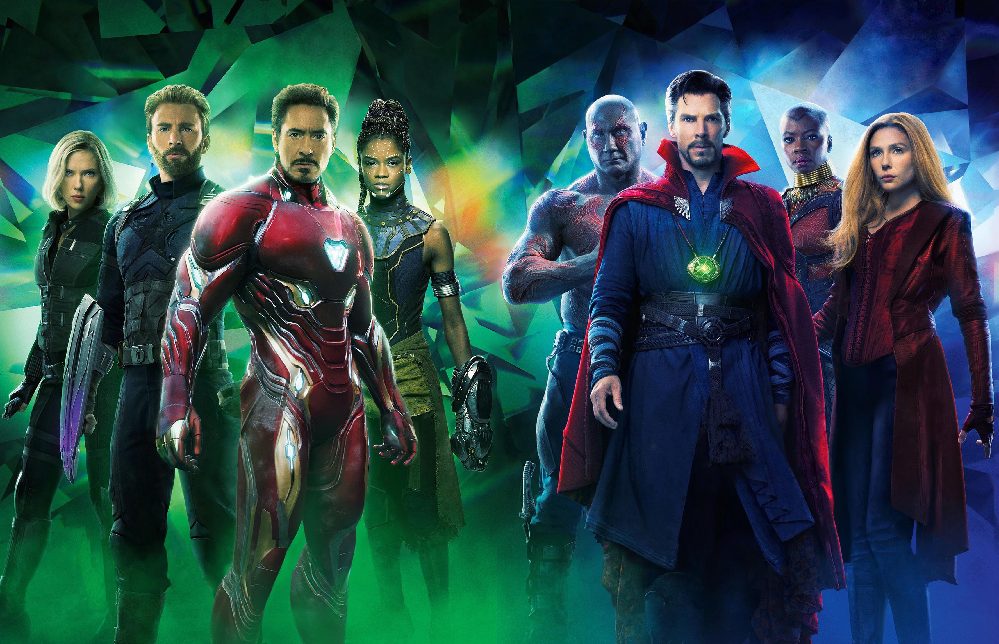 Wallpaper Avengers Infinity War Benedict Cumberbatch Doctor