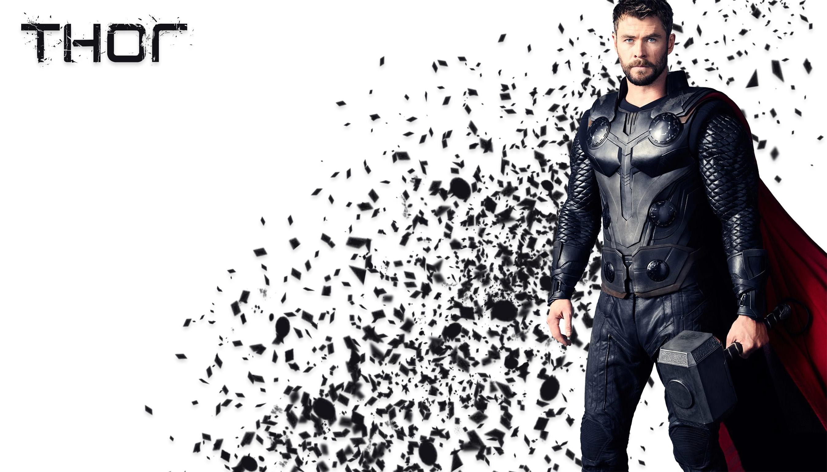 Wallpaper Avengers Infinity War Thor Chris Hemsworth The