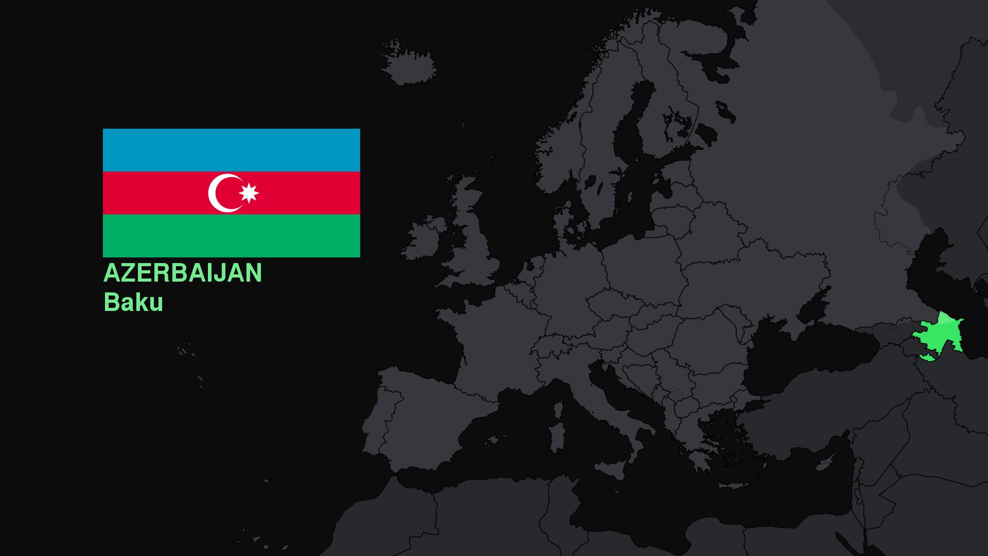 Baggrunde Aserbajdsjan Kort Flag 1920x1080 Meldliivienn
