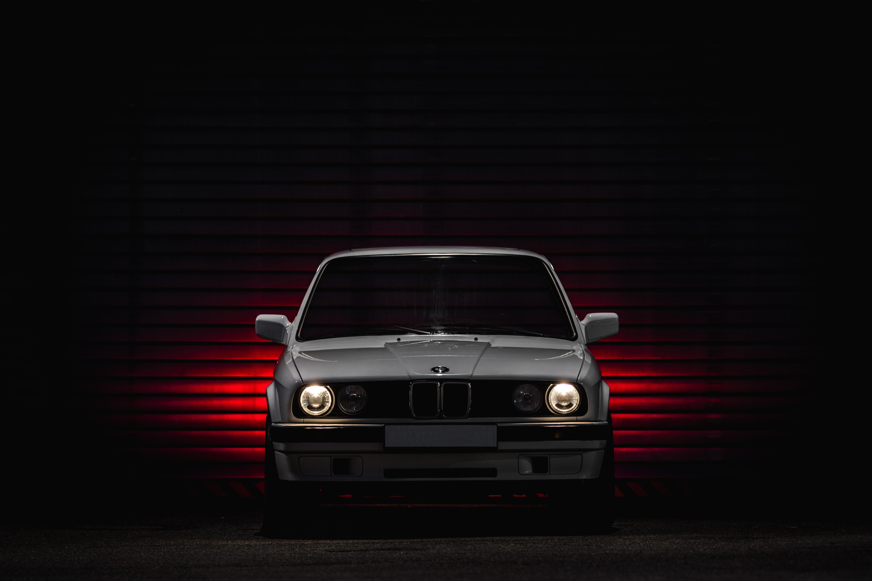 Wallpaper Bmw E30 Old Car Oldtimer German Cars Lights