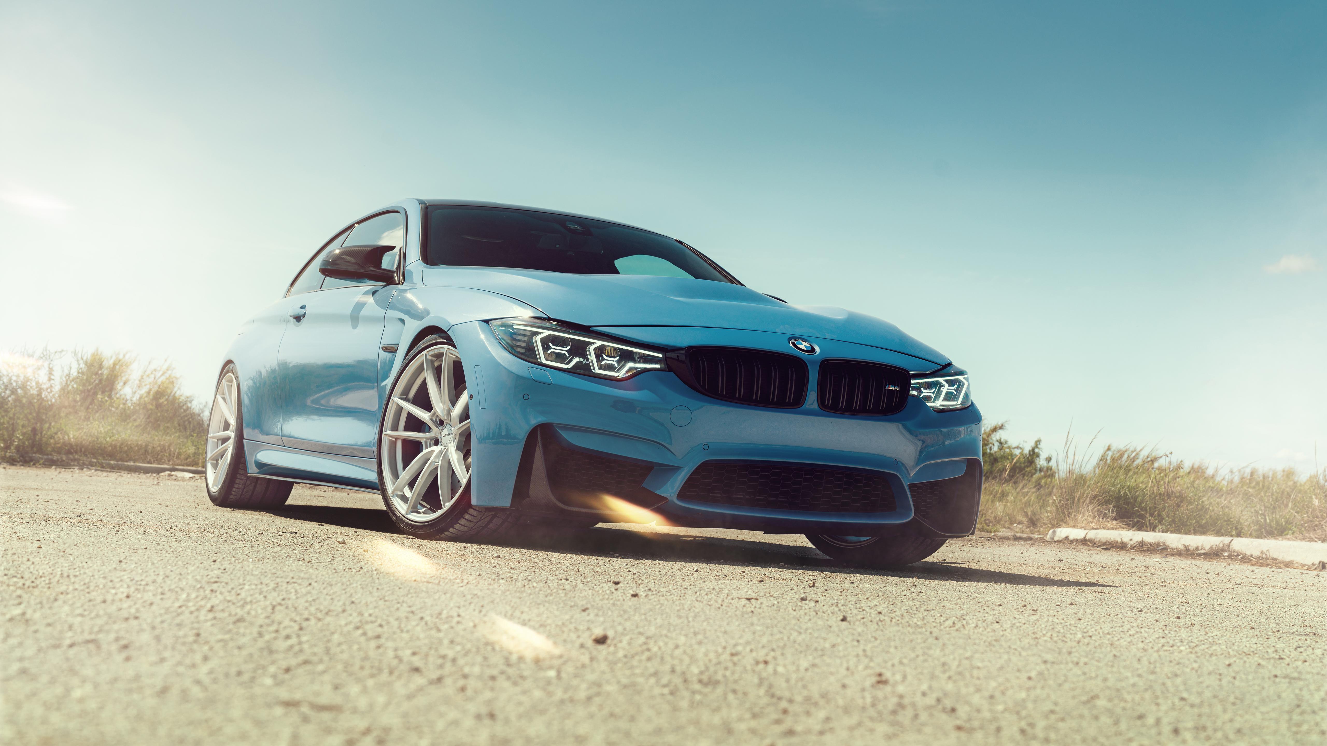 Wallpaper : BMW M4, car, vehicle, blue cars, glare, dirt ...