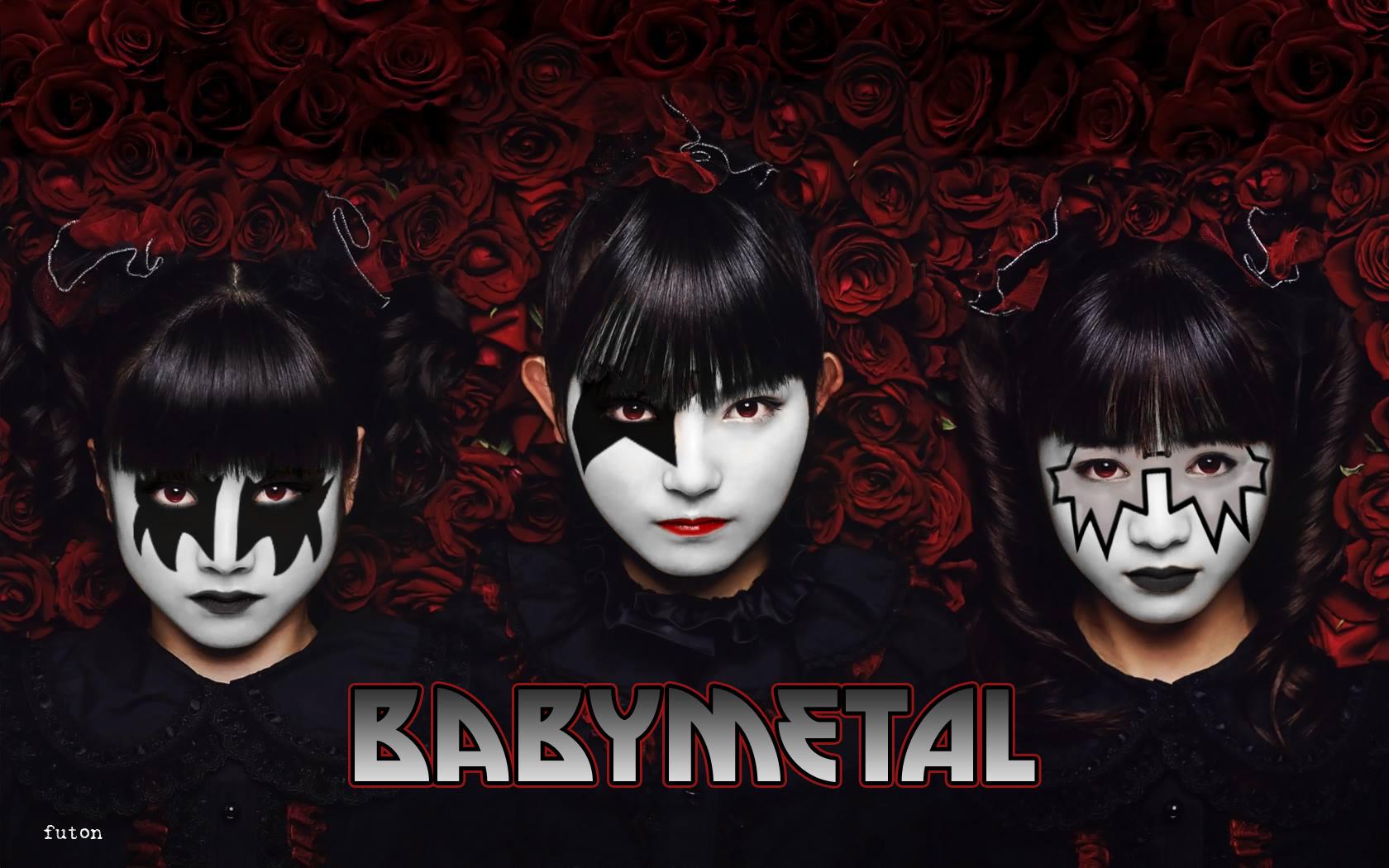 Wallpaper Babymetal Japanese Su Metal Yui Metal Moa