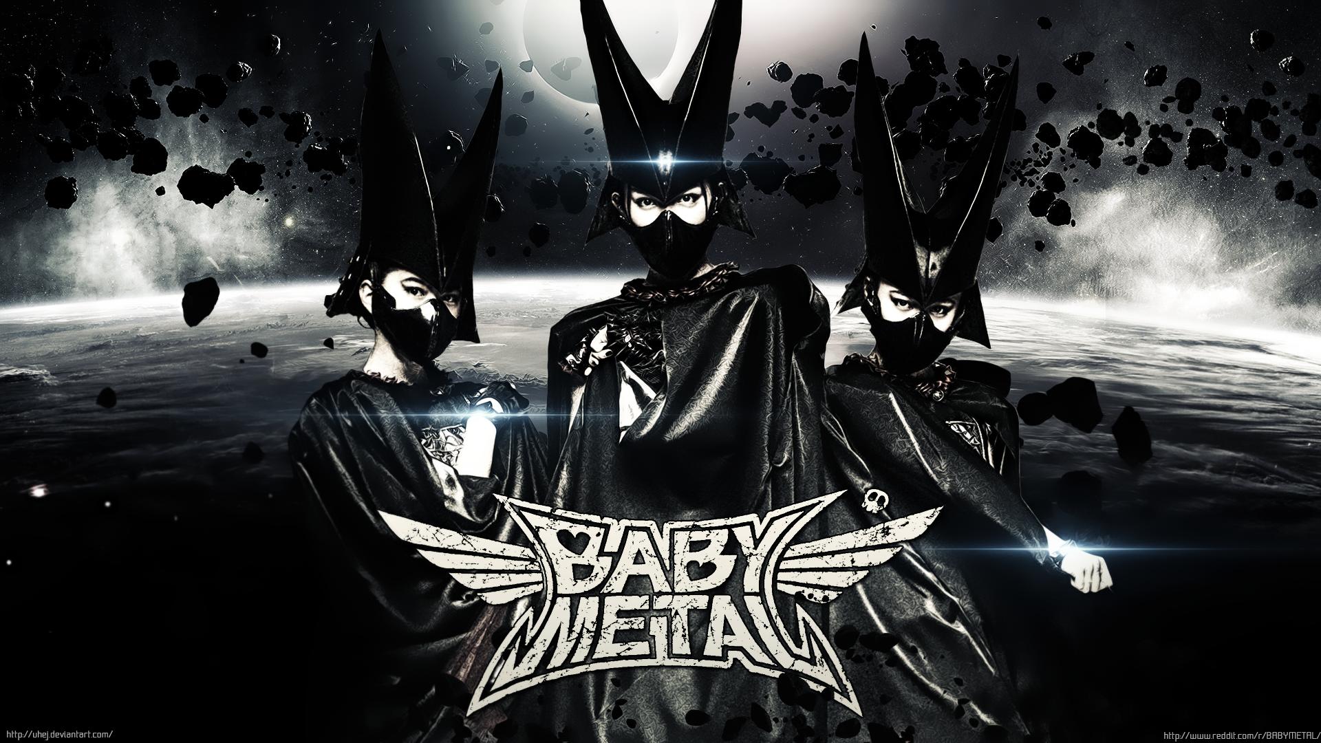 Wallpaper Babymetal Su Metal Yui Metal Moa Metal Idol