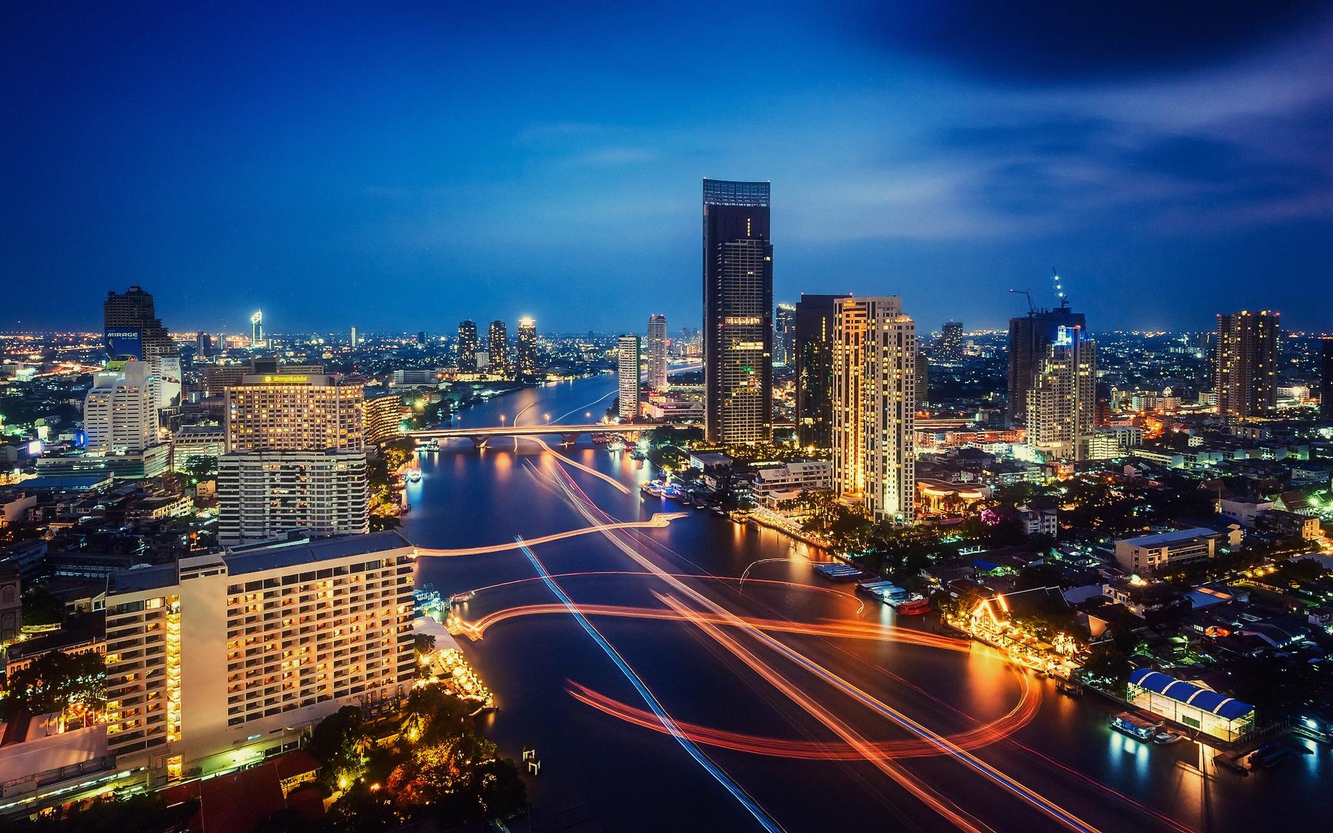 сильно загружен бангкок фото города обои для айфона следующем этапе