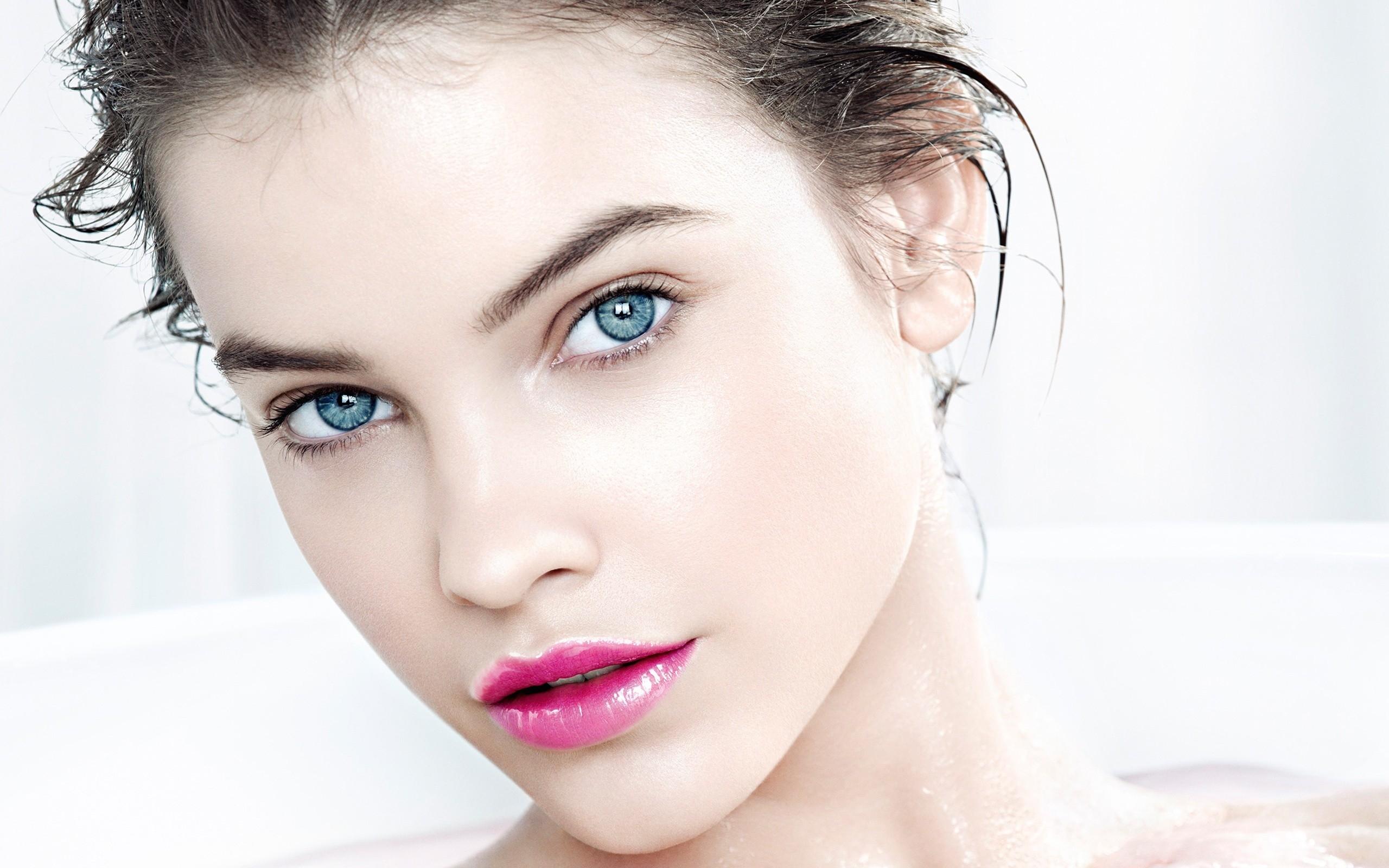 배경 화면 : 바바라 팔빈, 모델, 소녀, 구성하다, 얼굴 2560x1600