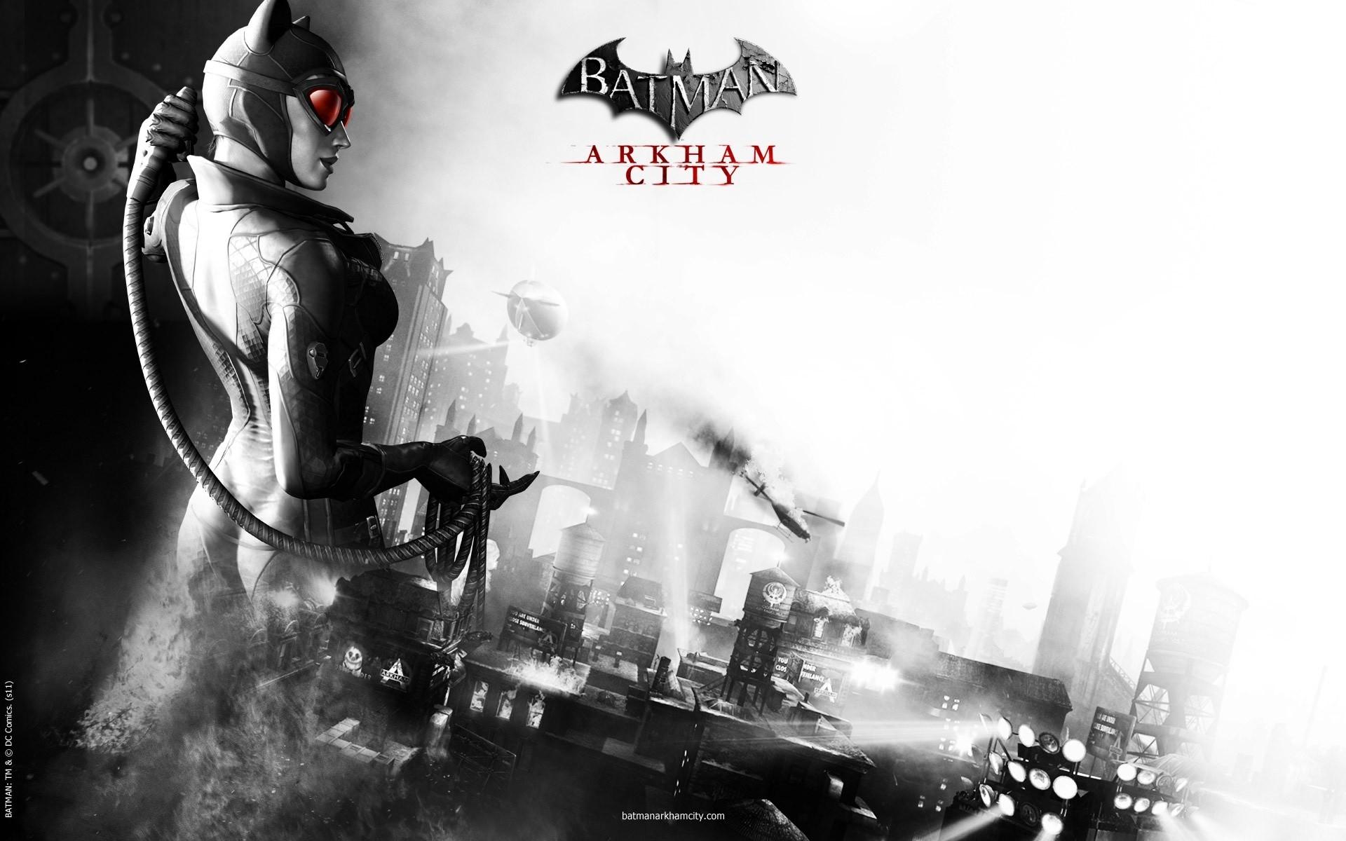 Batman Arkham City Catwoman