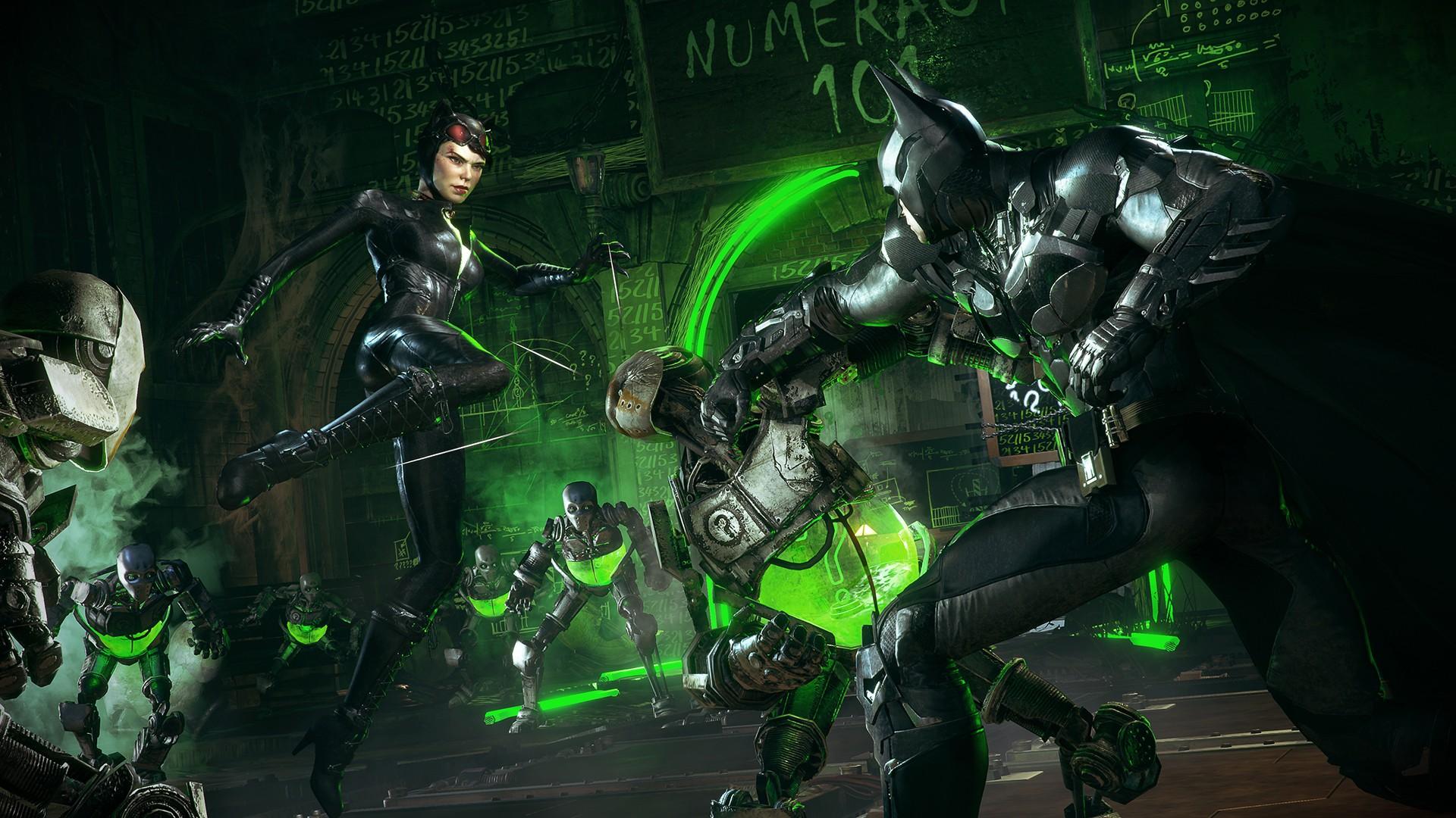 Batman Arkham Knight Catwoman Gotham City