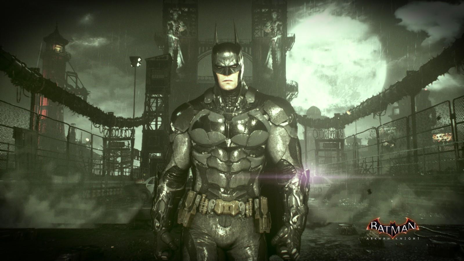 Masaüstü Batman Arkham Knight Oyuncu Warner Brothers 1600x900