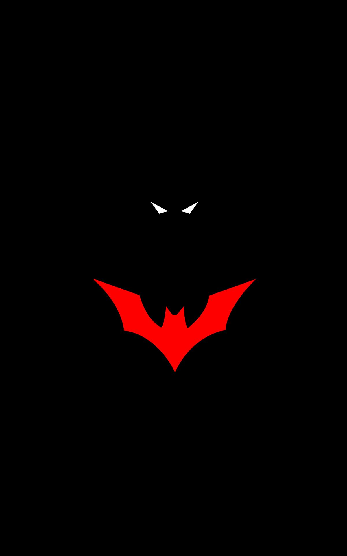 Batman Batman logo DC Comics minimalism portrait display