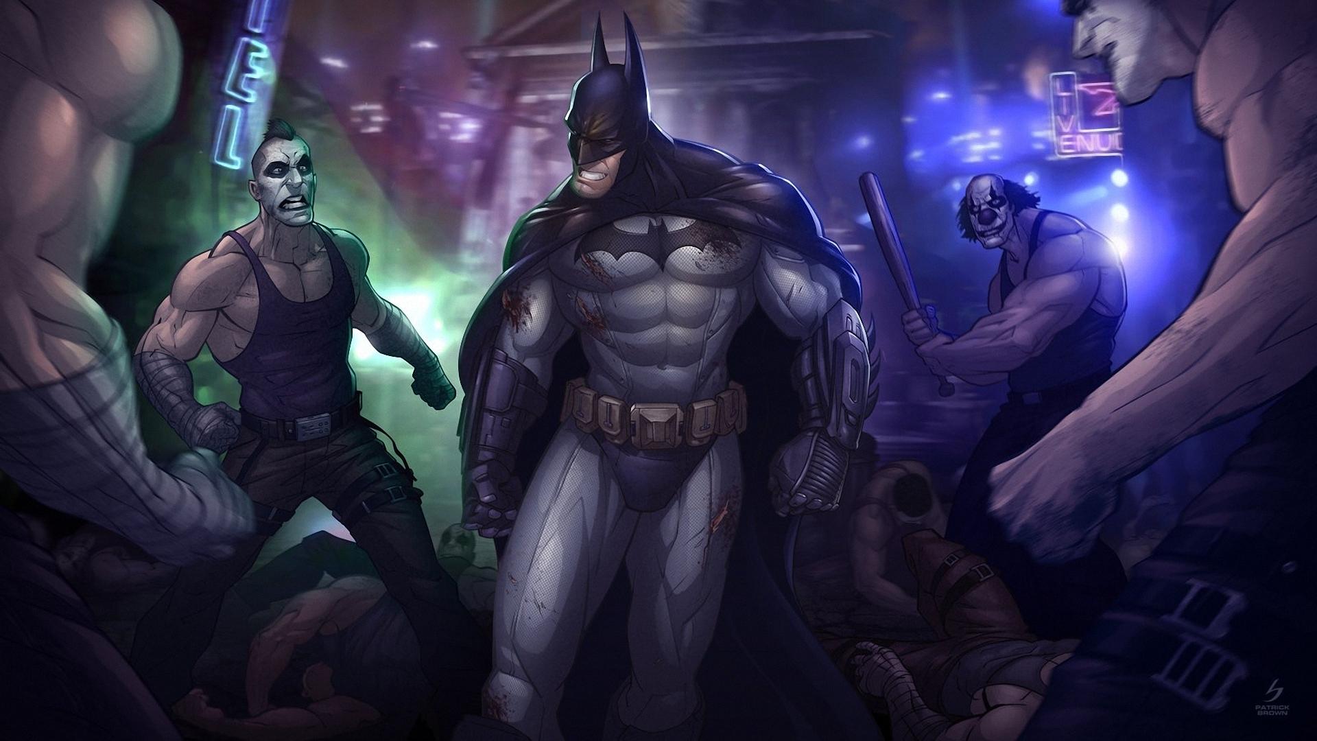Batman Patrick Brown ART Darkness Screenshot Computer Wallpaper Fictional Character Arkham City