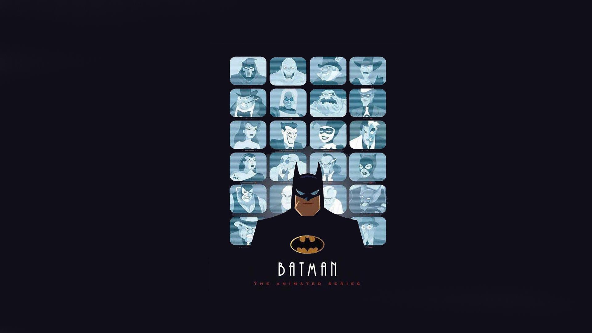 Wallpaper Batman The Animated Series Dc Comics 1920x1080