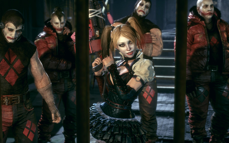 Wallpaper Batman Arkham Knight Harley Quinn Wb 2880x1800