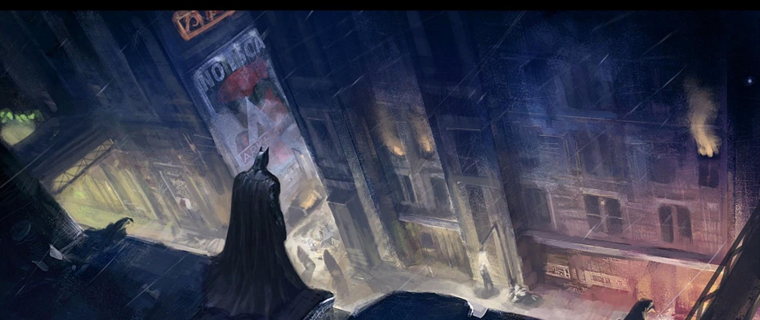 2560x1080 Playerunknowns Battlegrounds 2017 Game 2560x1080: Wallpaper : Batman, Midnight, Darkness, Screenshot