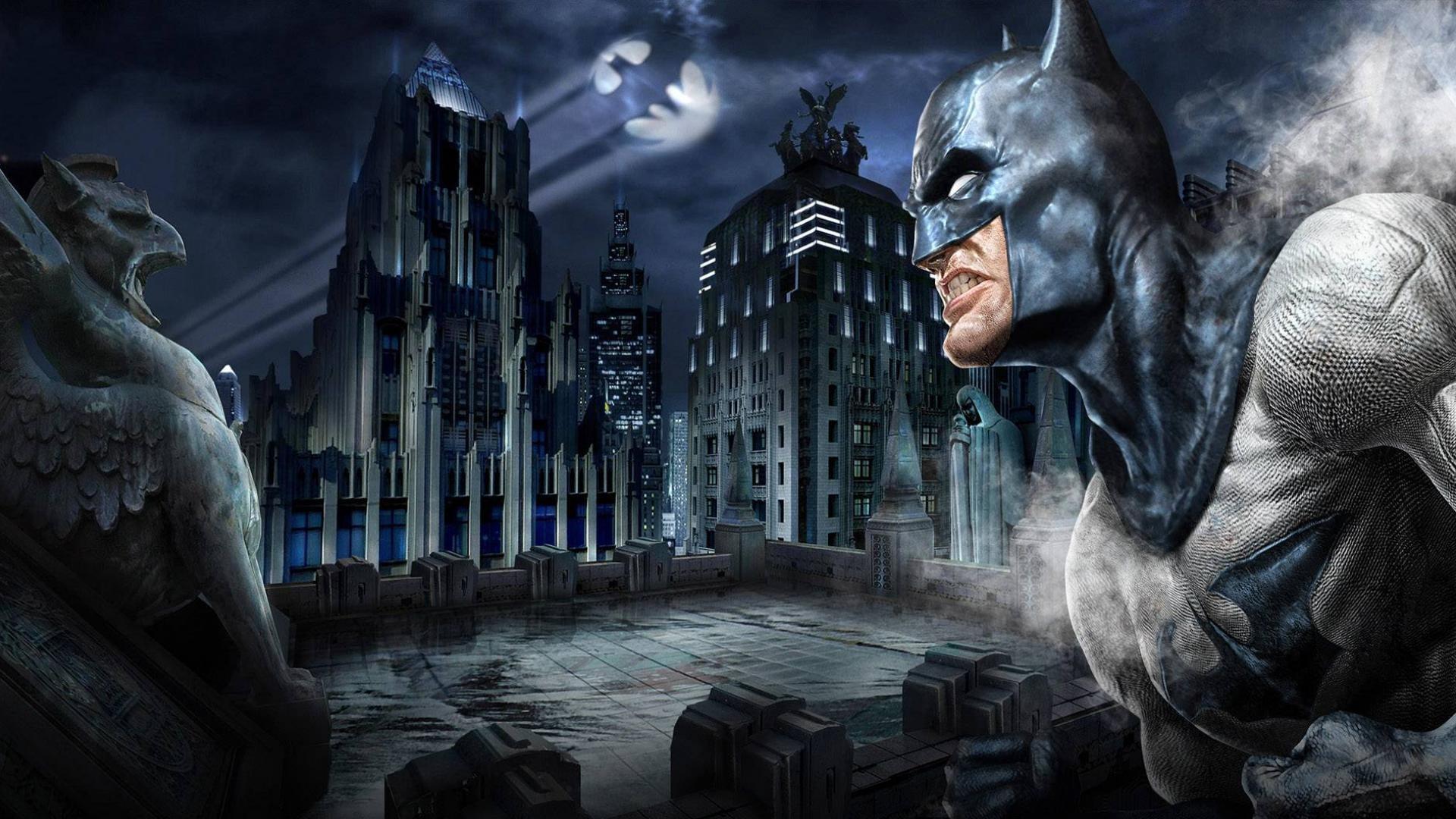 デスクトップ壁紙 バットマン 神話 闇 スクリーンショット