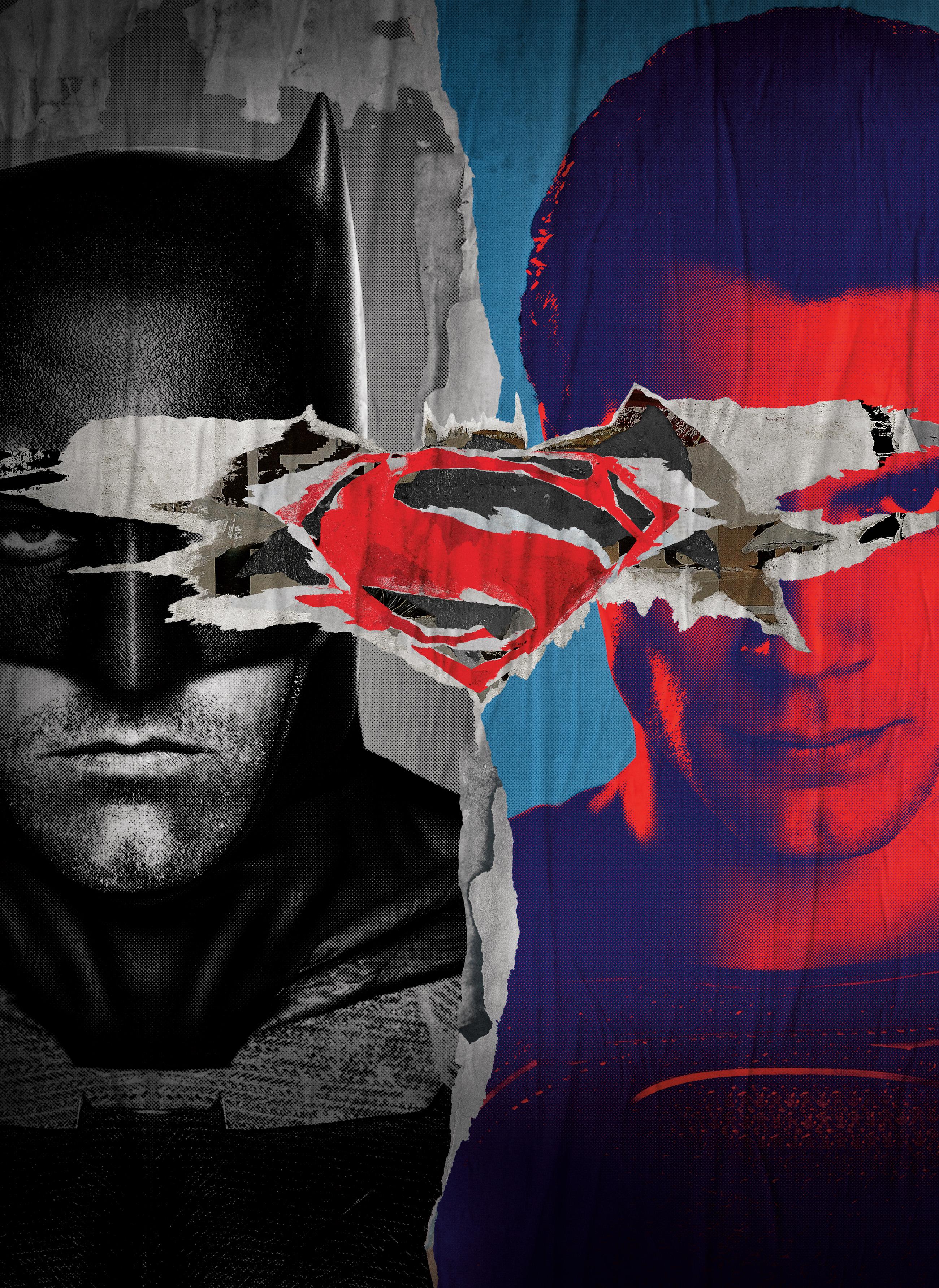 Wallpaper Batman V Superman Dawn Of Justice Movie Poster