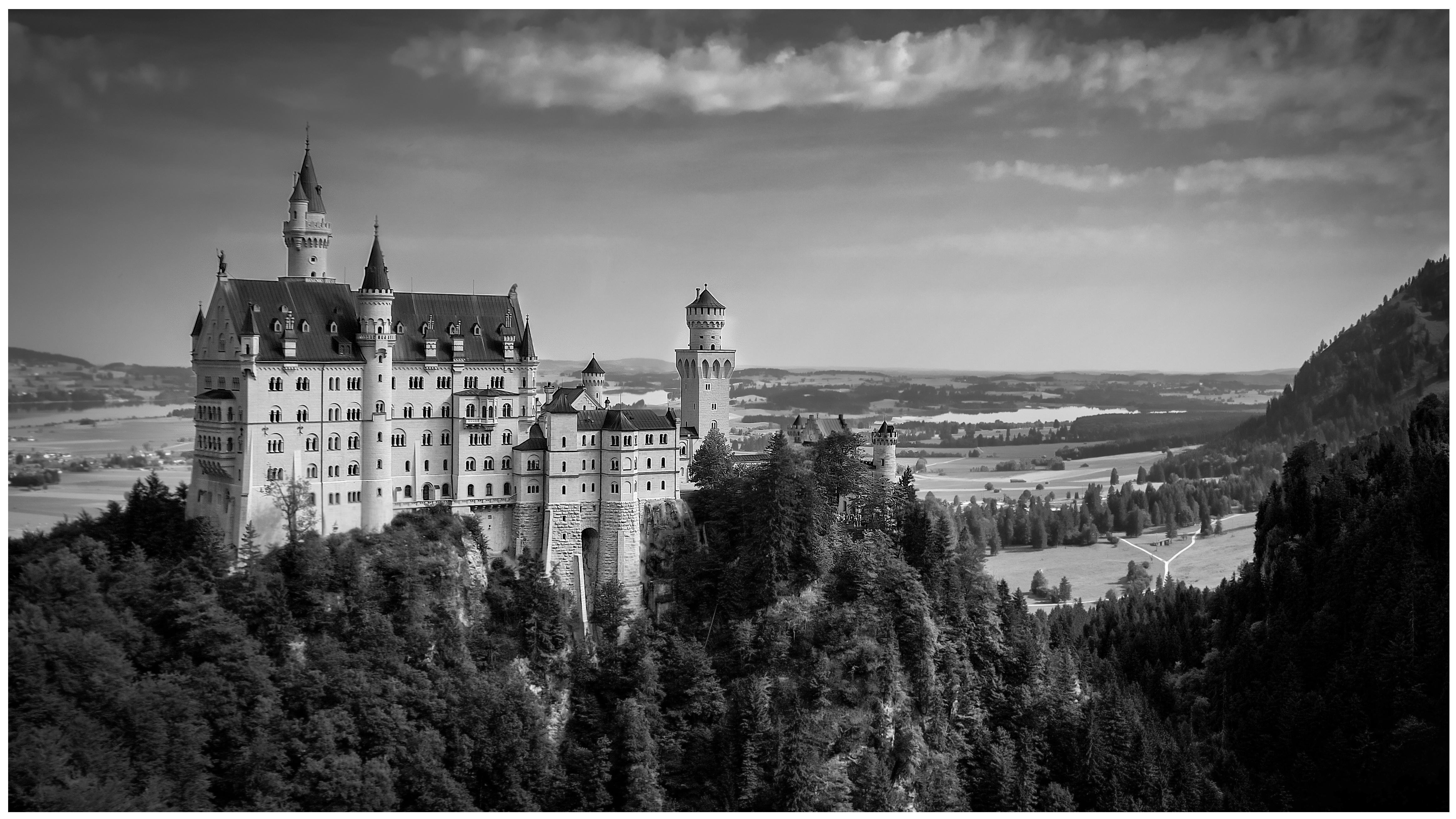 Hintergrundbilder : Bayern, Deutschland, Disney, Neuschwanstein ...