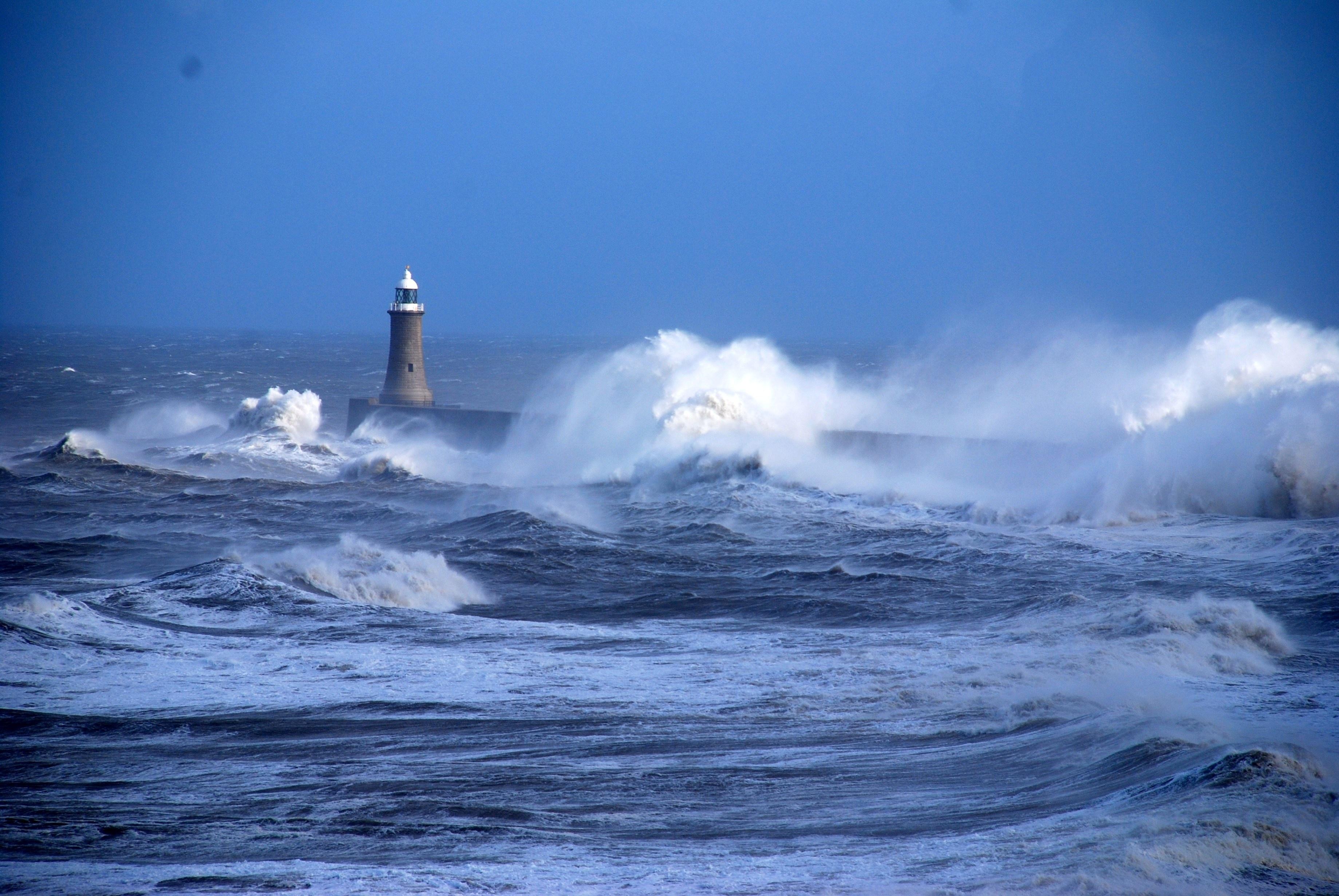 Океан и маяк картинки любое