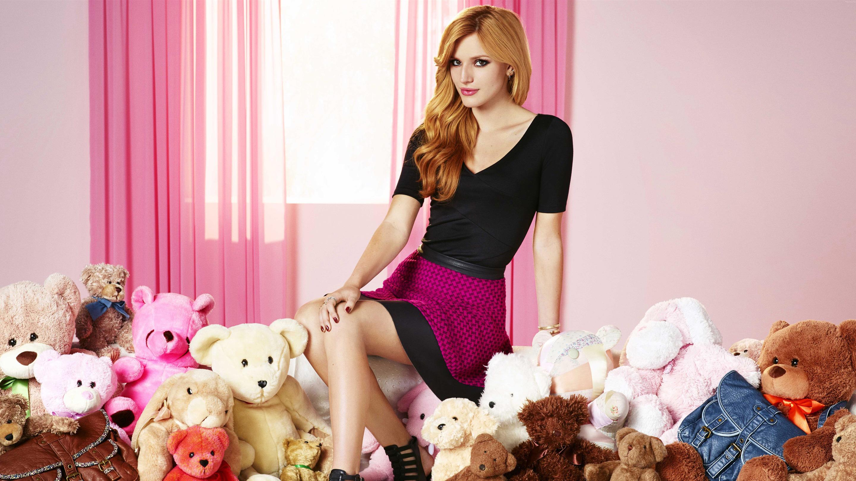 Wallpaper Bella Thorne Actress Women Teddy Bears