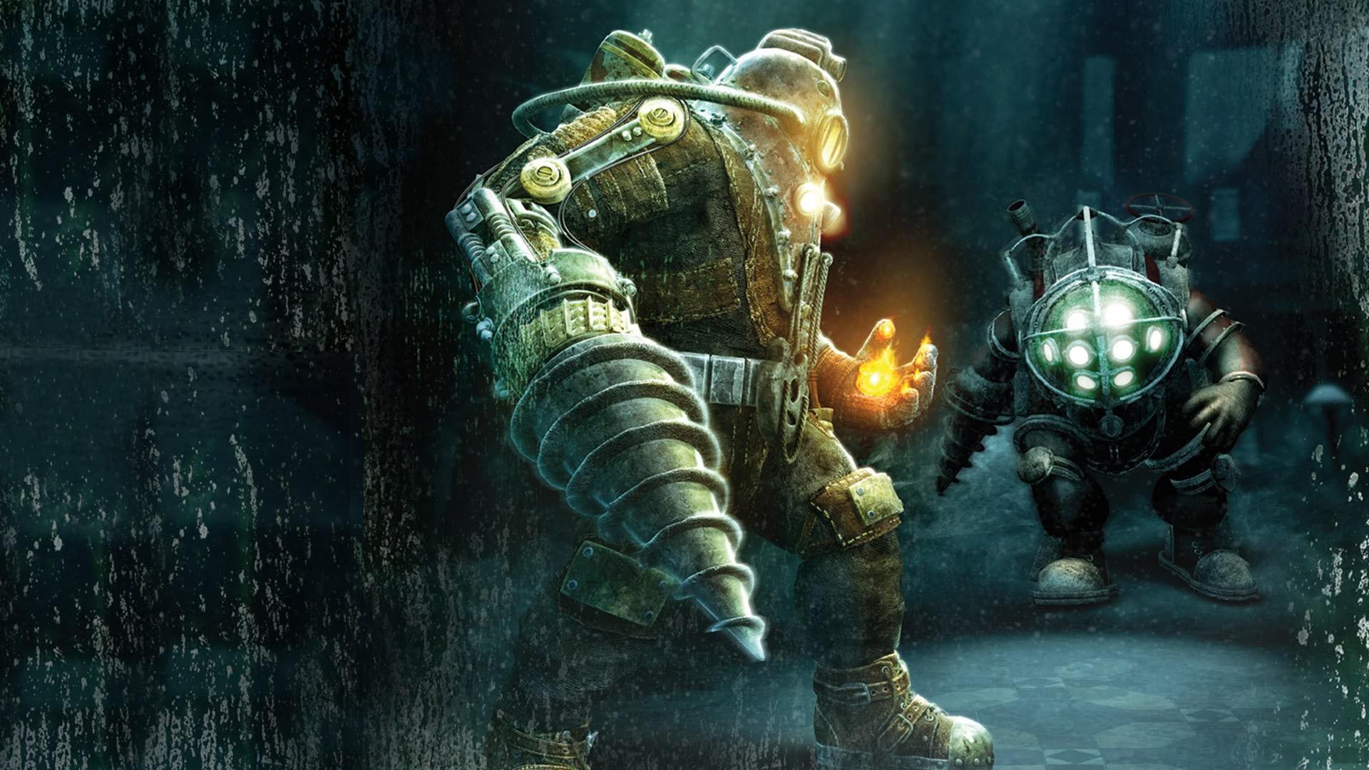 Wallpaper Big Daddy Bioshock Mythology Screenshot