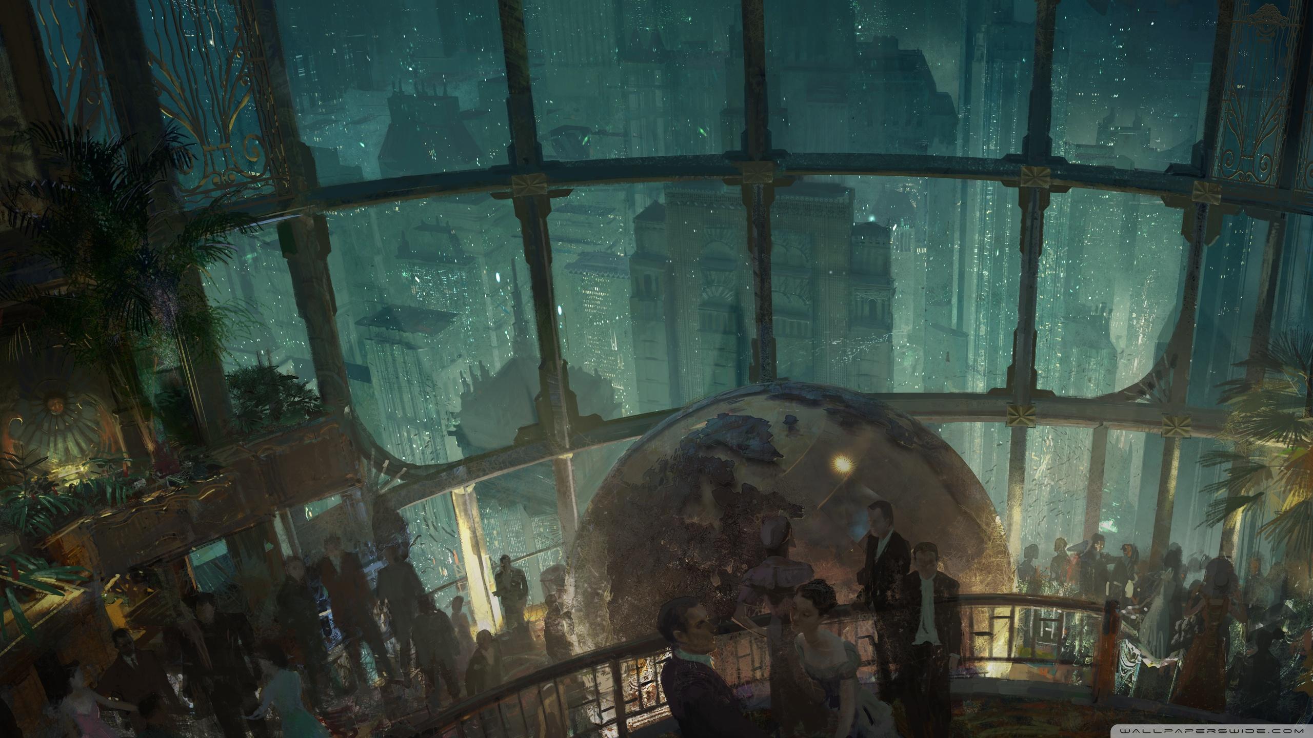 Video Game Art, retro science fiction