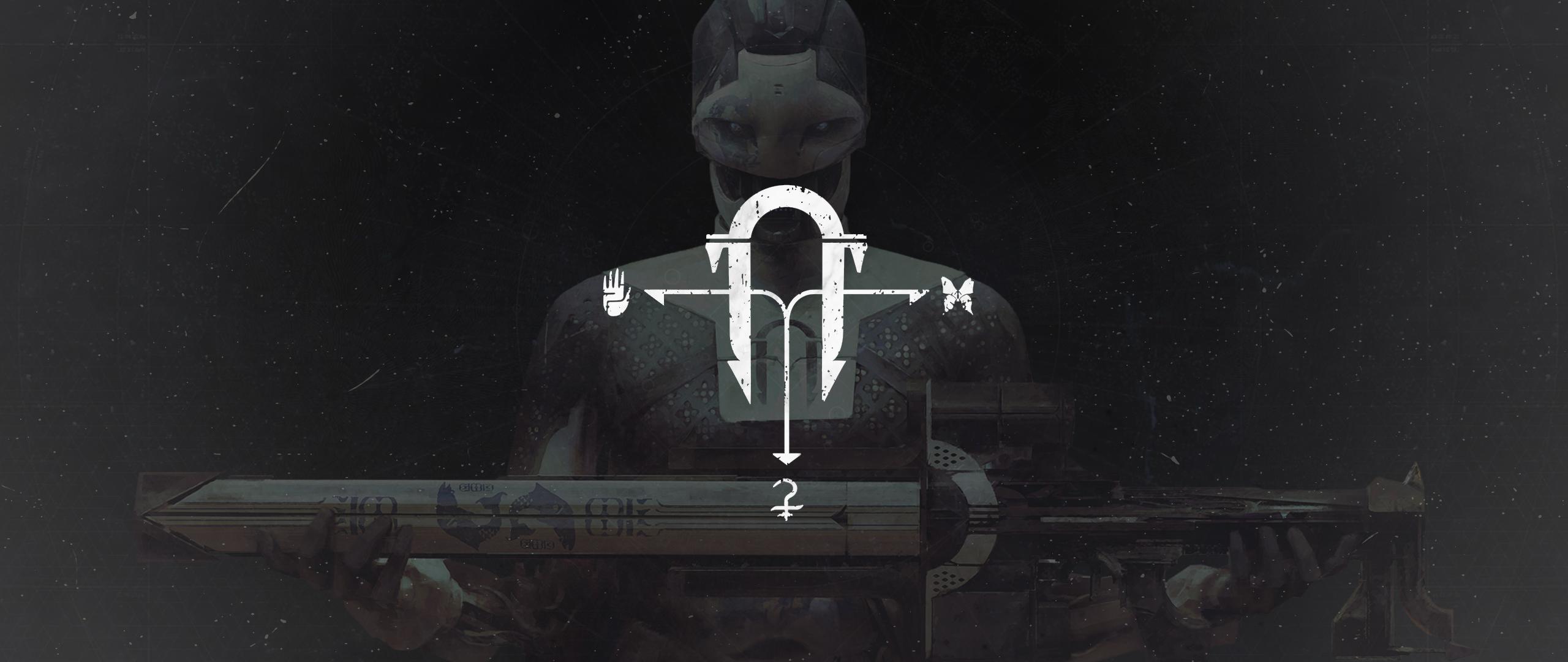 Wallpaper Black Armoury Destiny Video Game Destiny 2
