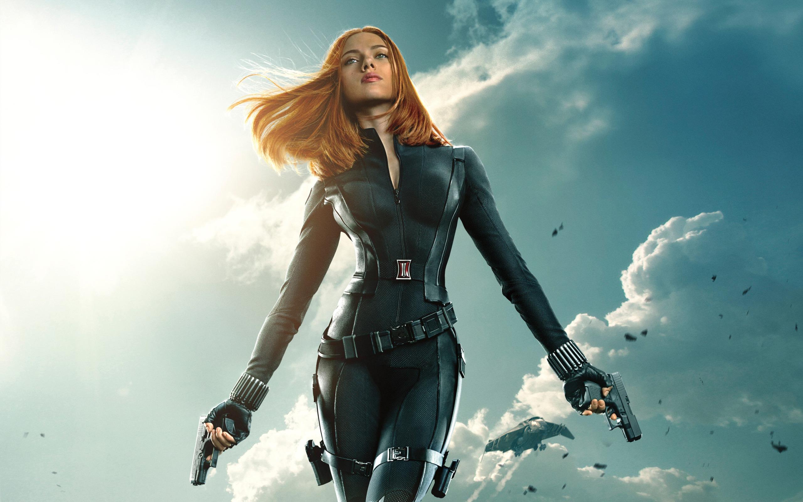 Fondos De Pantalla Viuda Negra Scarlett Johansson