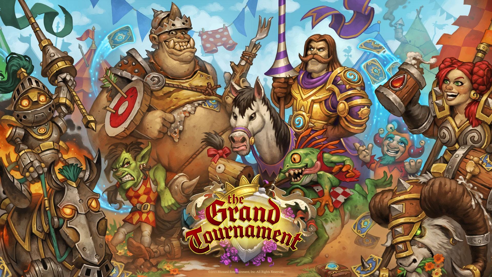 Blizzard Entertainment Comics Mythology Hearthstone The Grand Tournament Games Screenshot