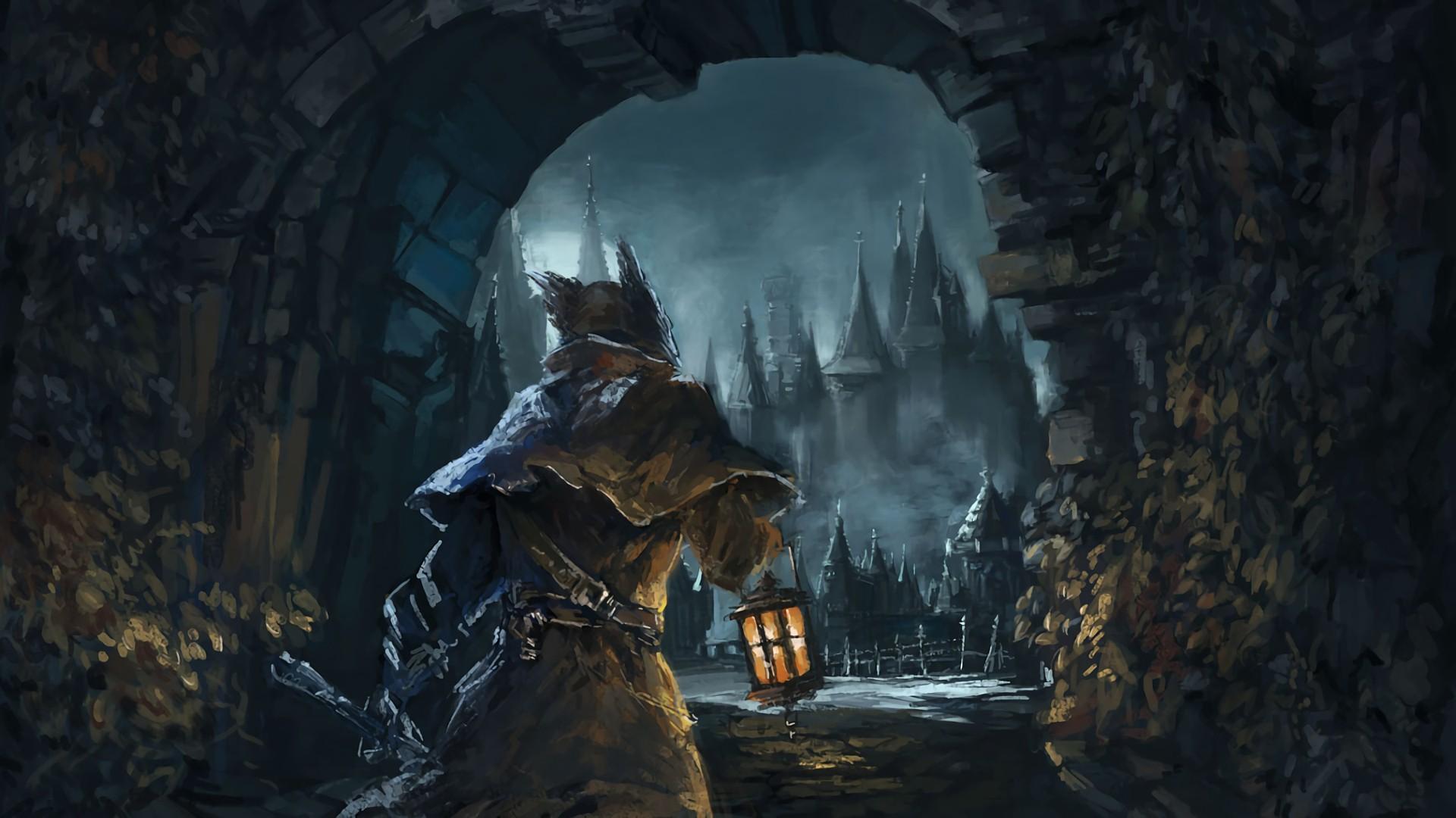 Wallpaper : Bloodborne, Mythology, Darkness, Screenshot