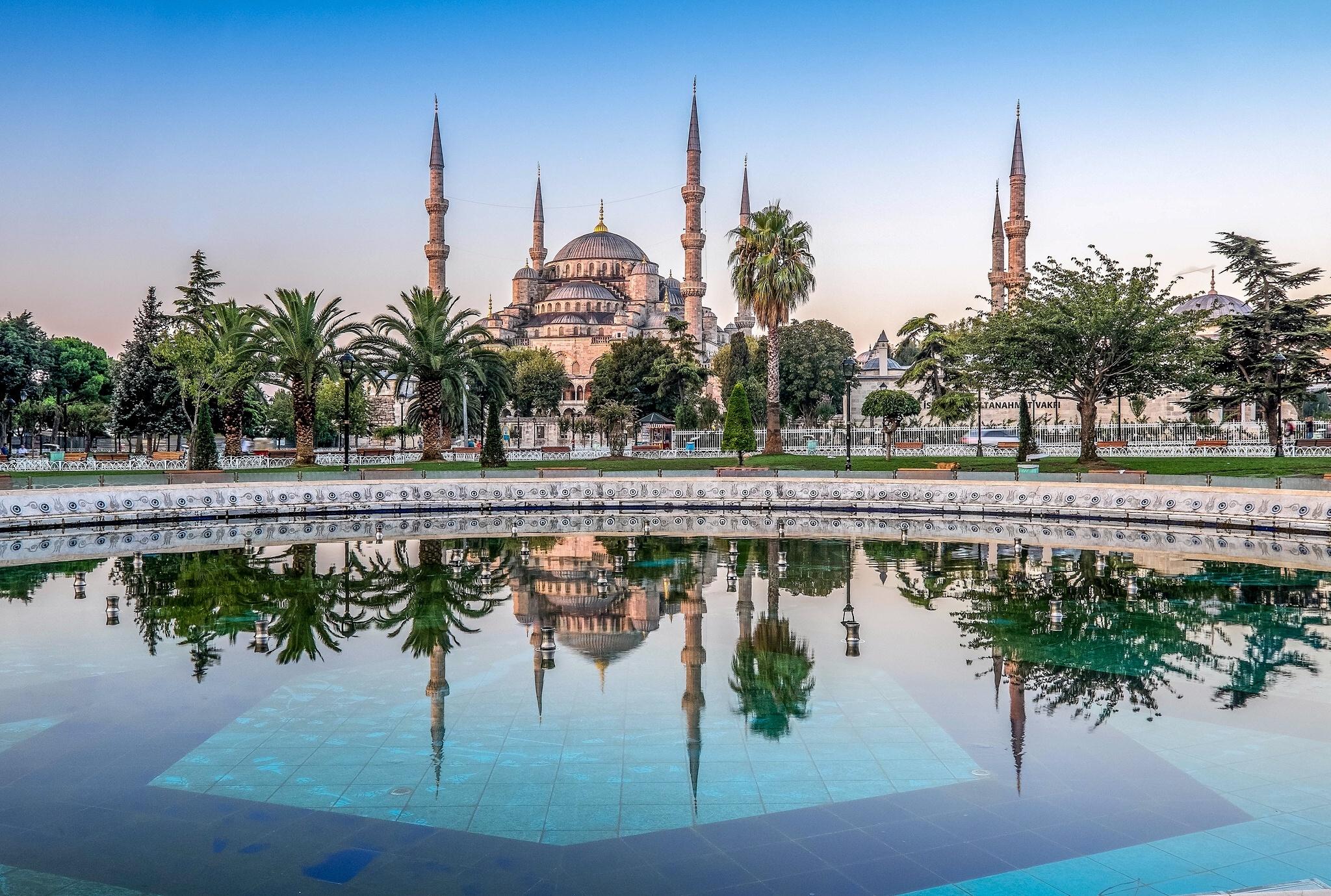 Blue Mosque sultan ahmet mosque Istanbul Turkey 1008022