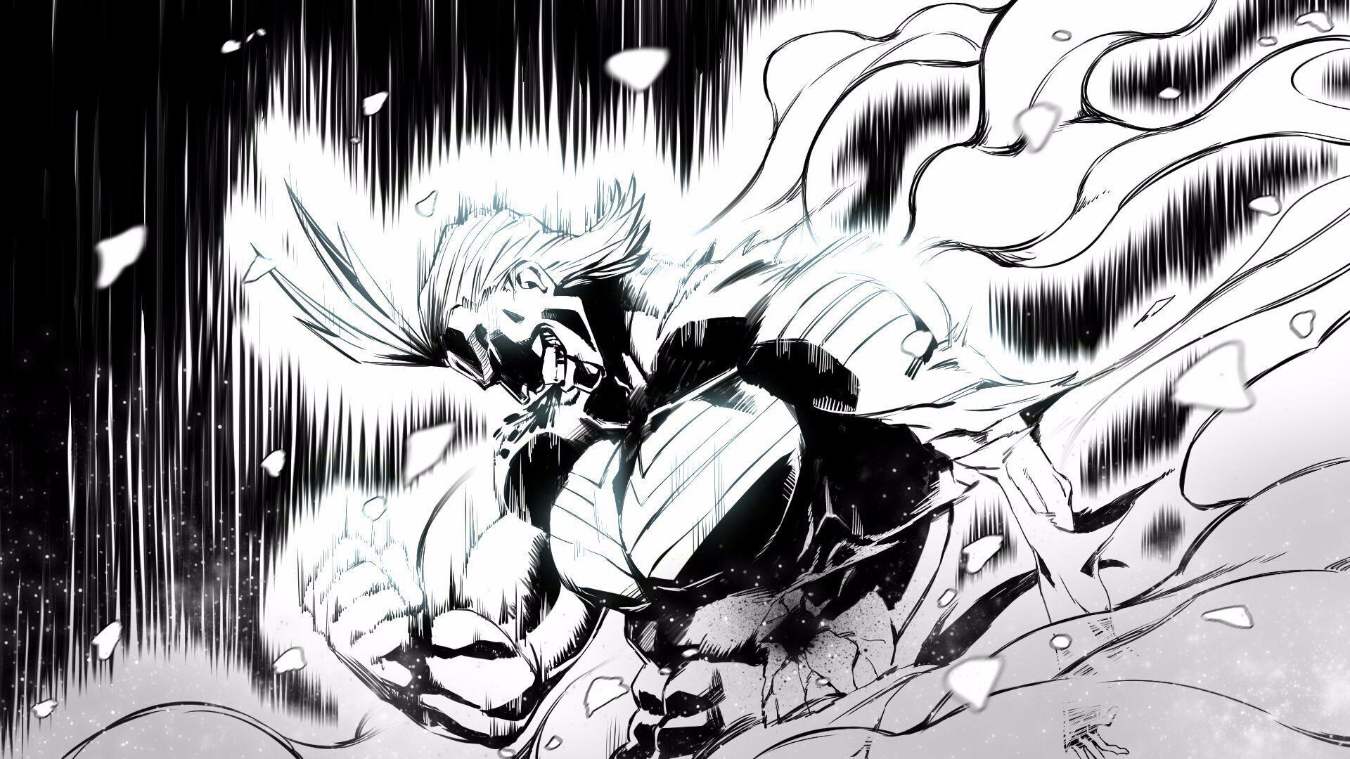 Wallpaper Boku No Hero Academia Anime Men Digital Art