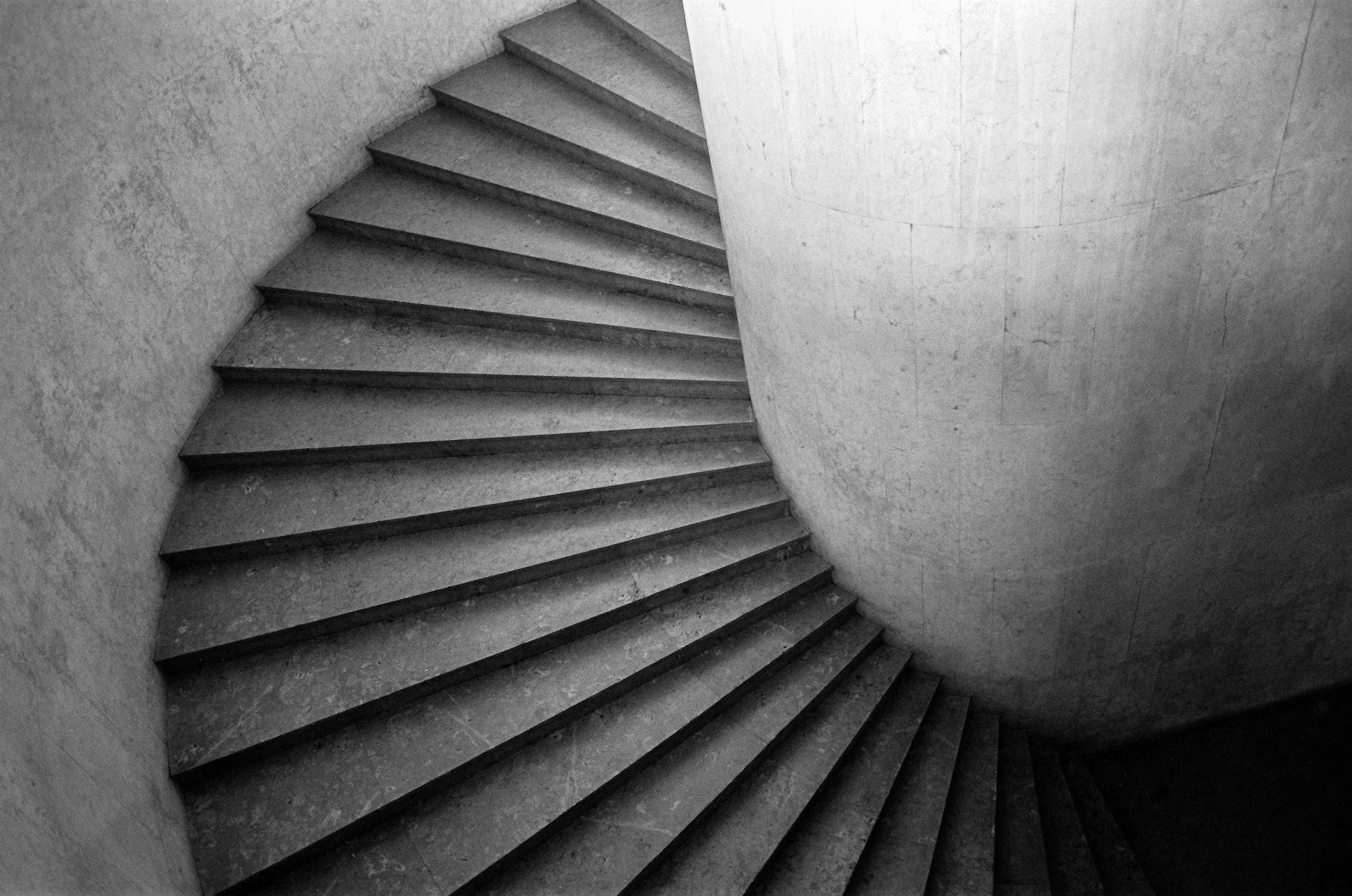 Fond d\'écran : Brésil, Bw, film, Rio, architecture, escaliers, 35MM ...