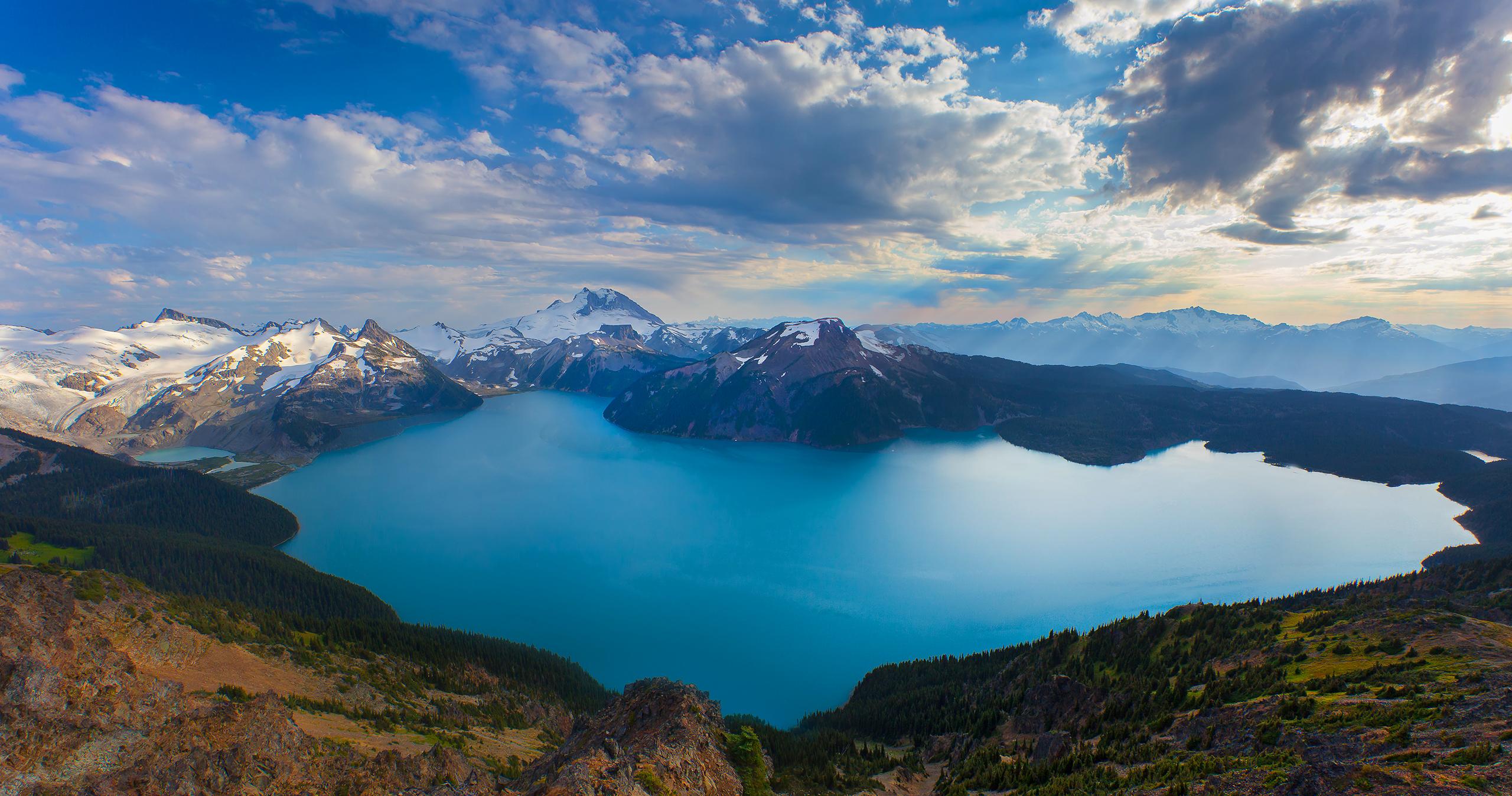 Wallpaper British Columbia Canada Mountains Lake View