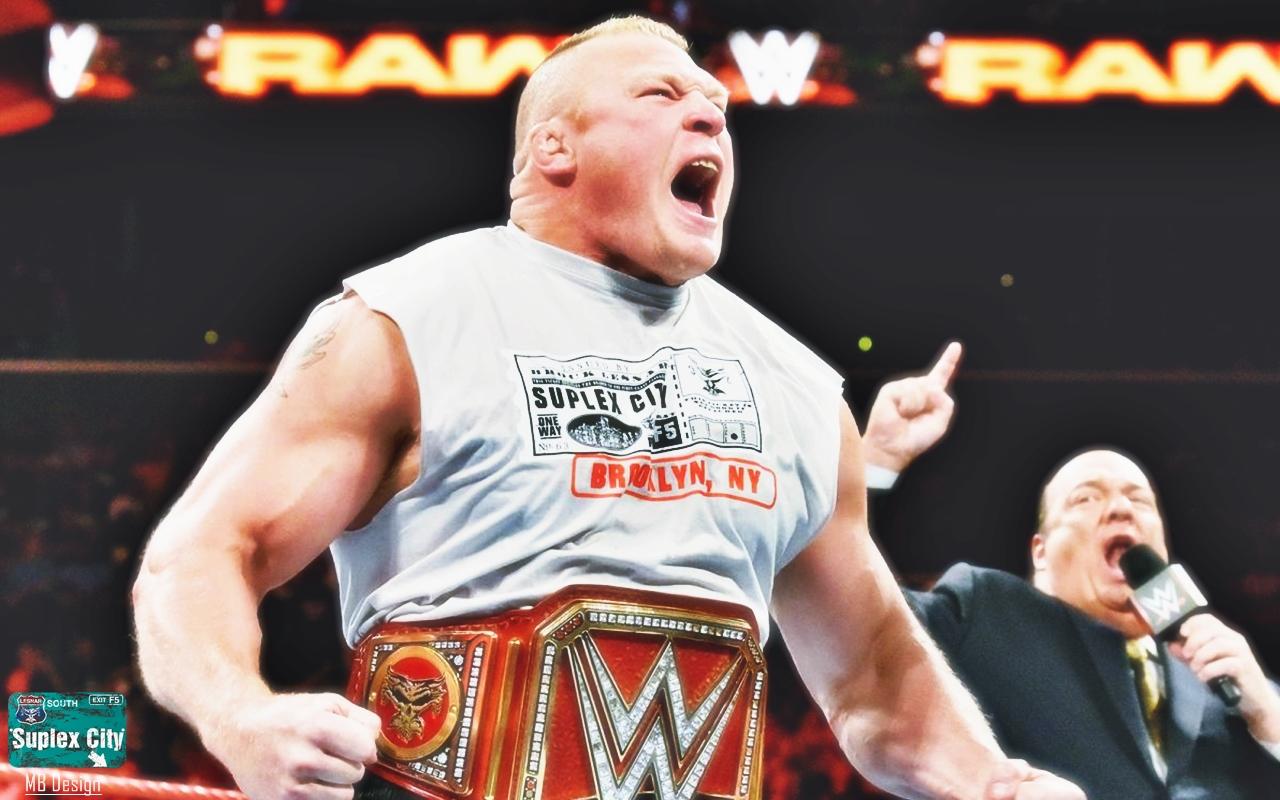 Wallpaper Brock Lesnar Wwe Paul Heyman Wrestling 1280x800